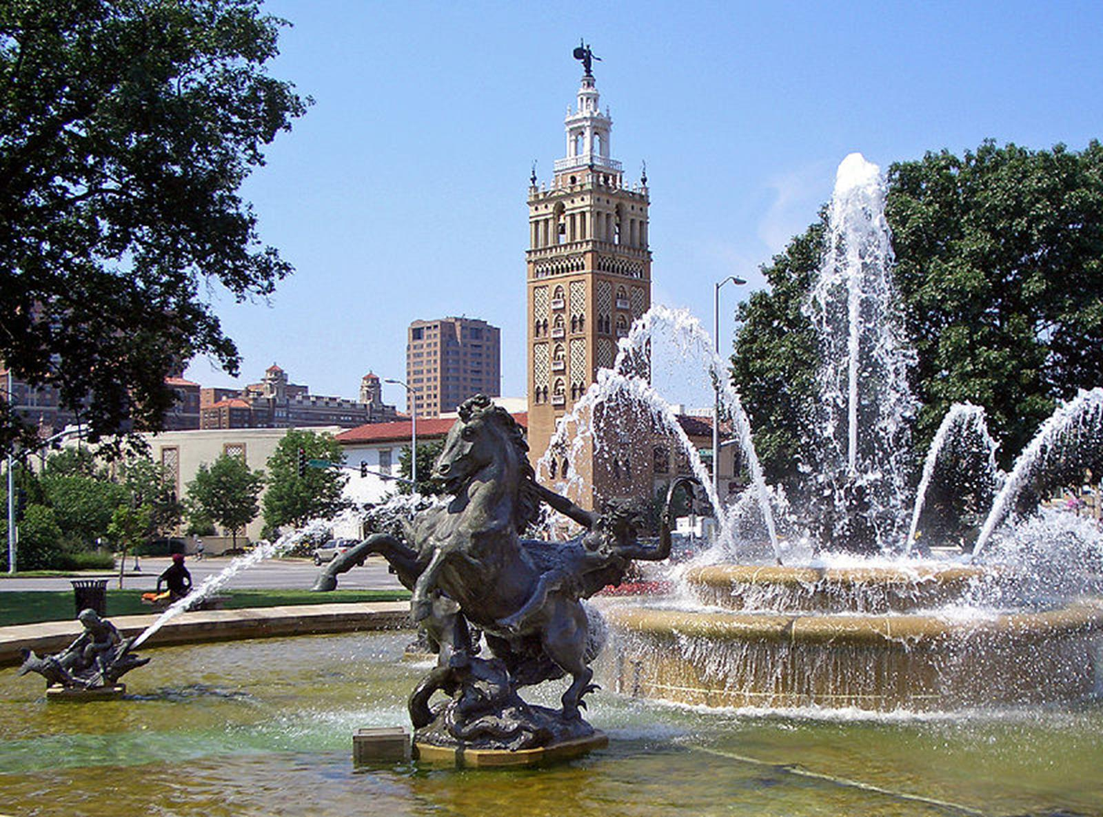 Kansas City, also known as the City of Fountains