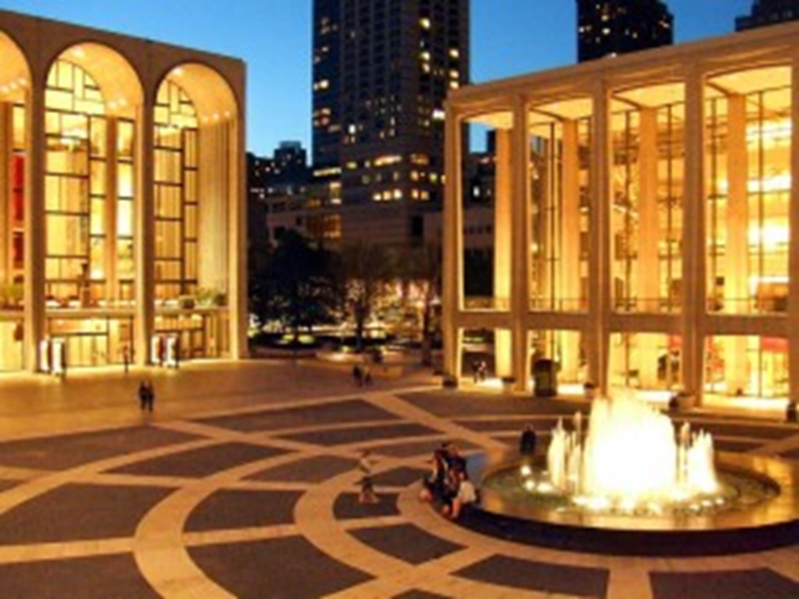 The Lincoln Center for Performing Arts