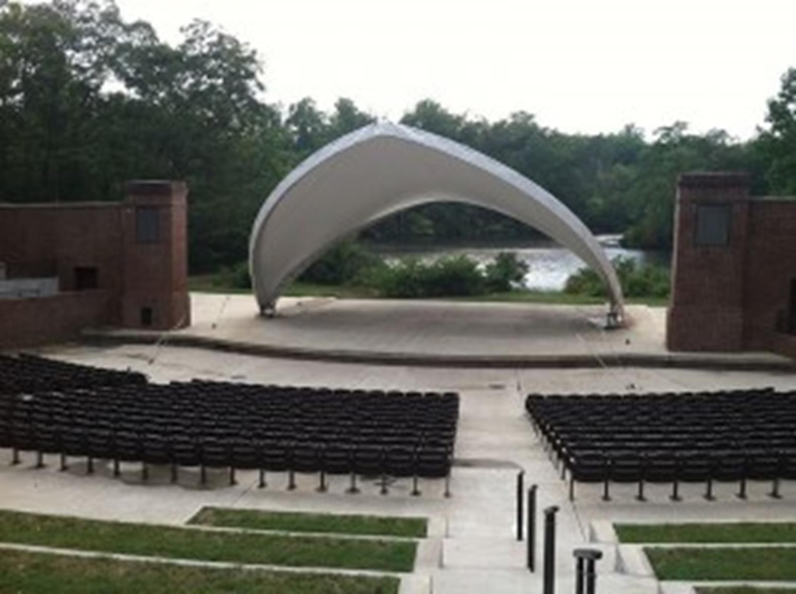The Outdoor Amphitheater at William and Mary's College