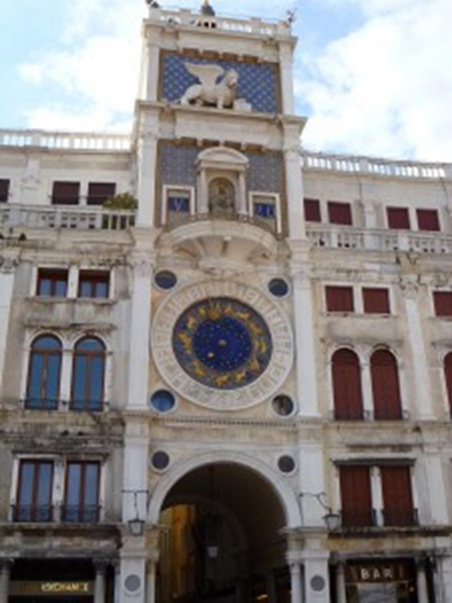 St. Mark's Clocktower in Venice