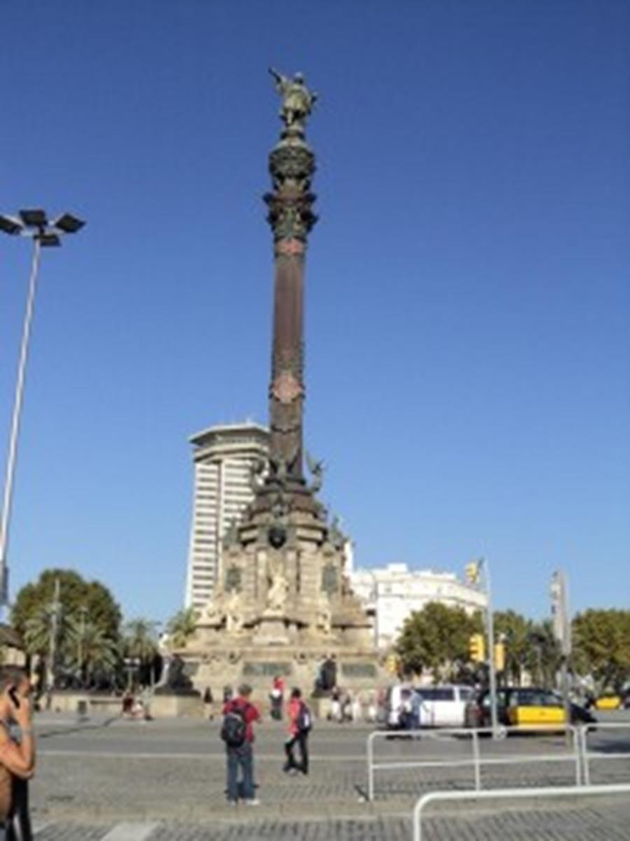 Columbus Monument, Barcelona Spain.