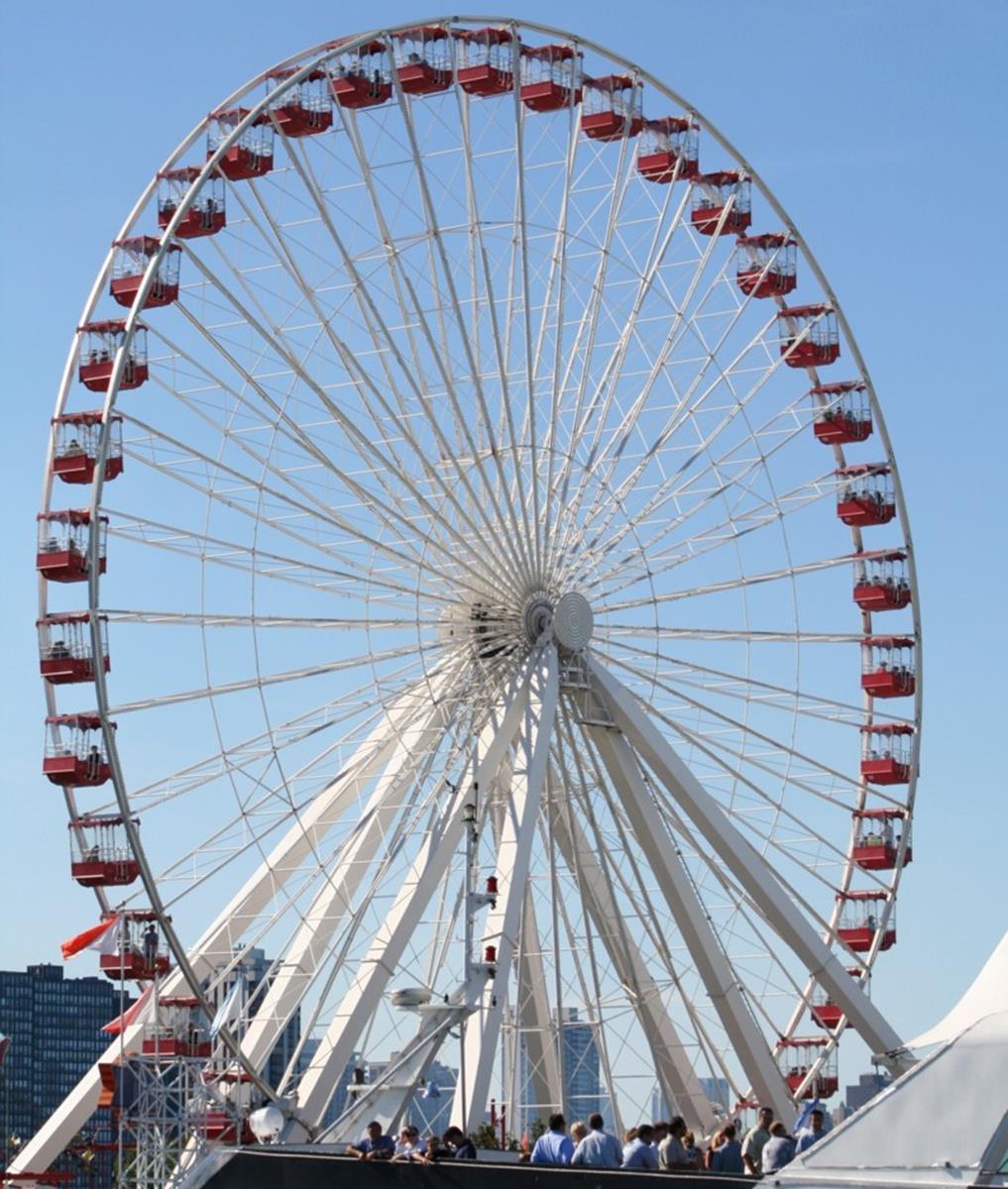 Giant Wheel @ Navy Pier. Credit