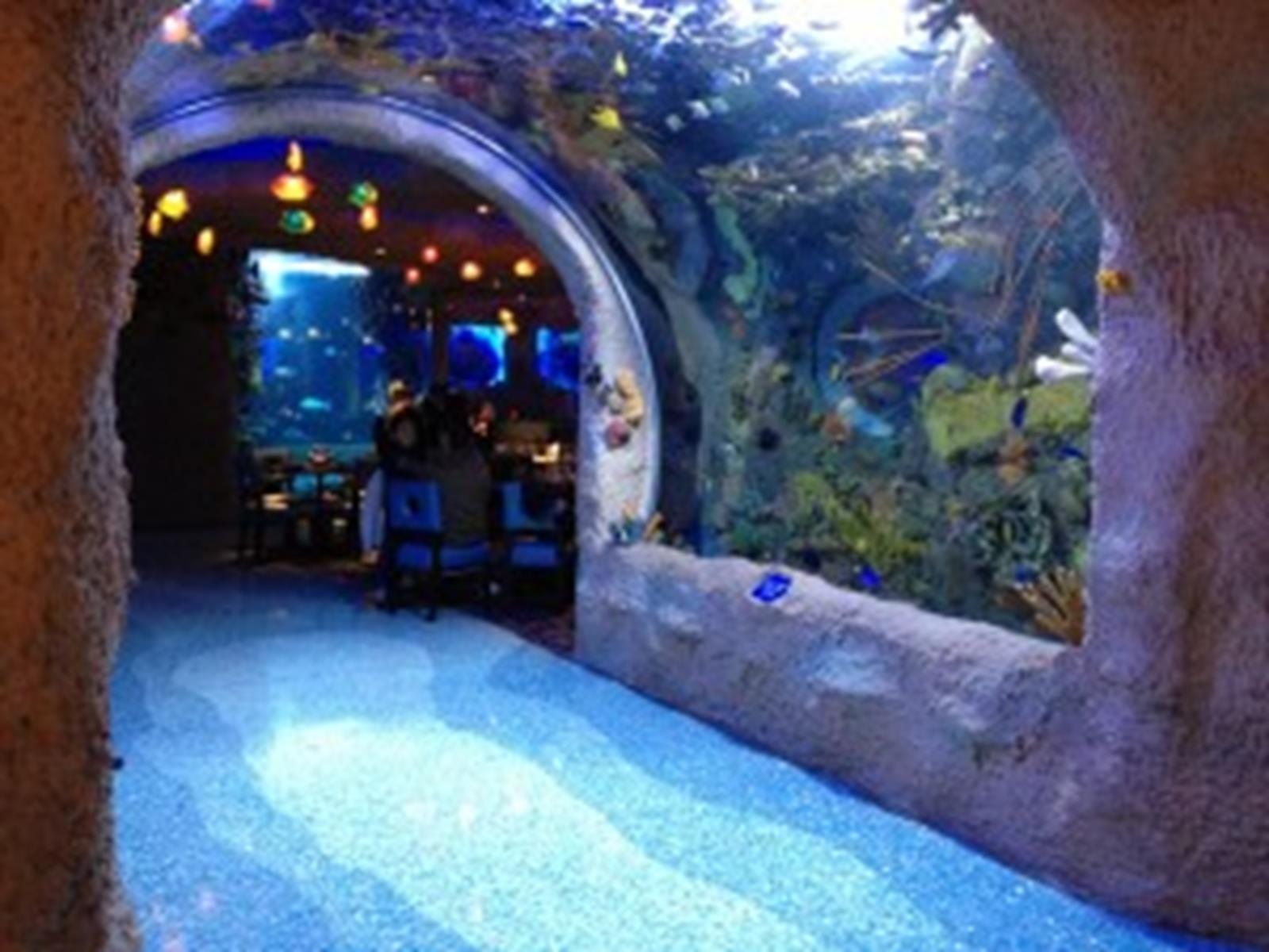 Entrance to Aquarium Restaurant in Nashville, Tennessee