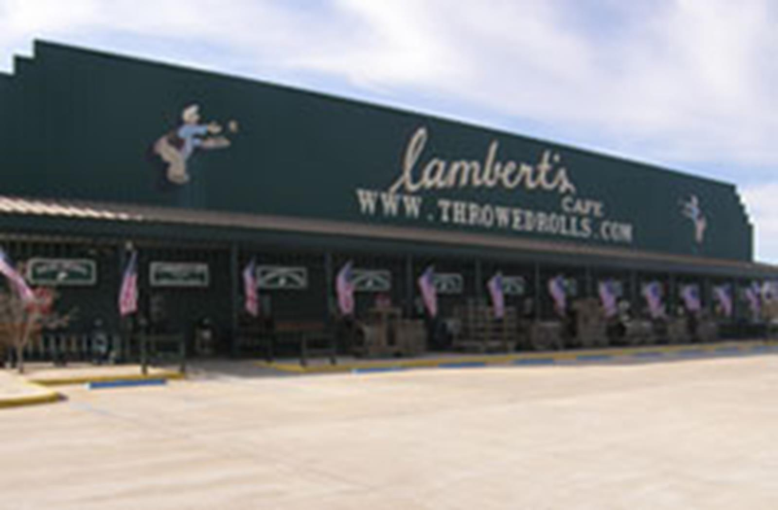 Lambert's Cafe in Sikeston, Missouri. (Photo Courtesy of ThrowedRolls.com)