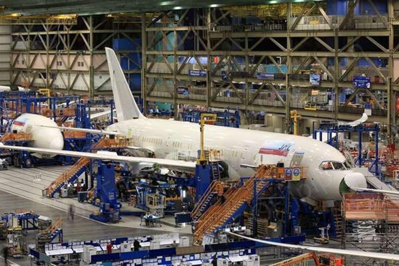 Boeing factory Mukilteo, Washington