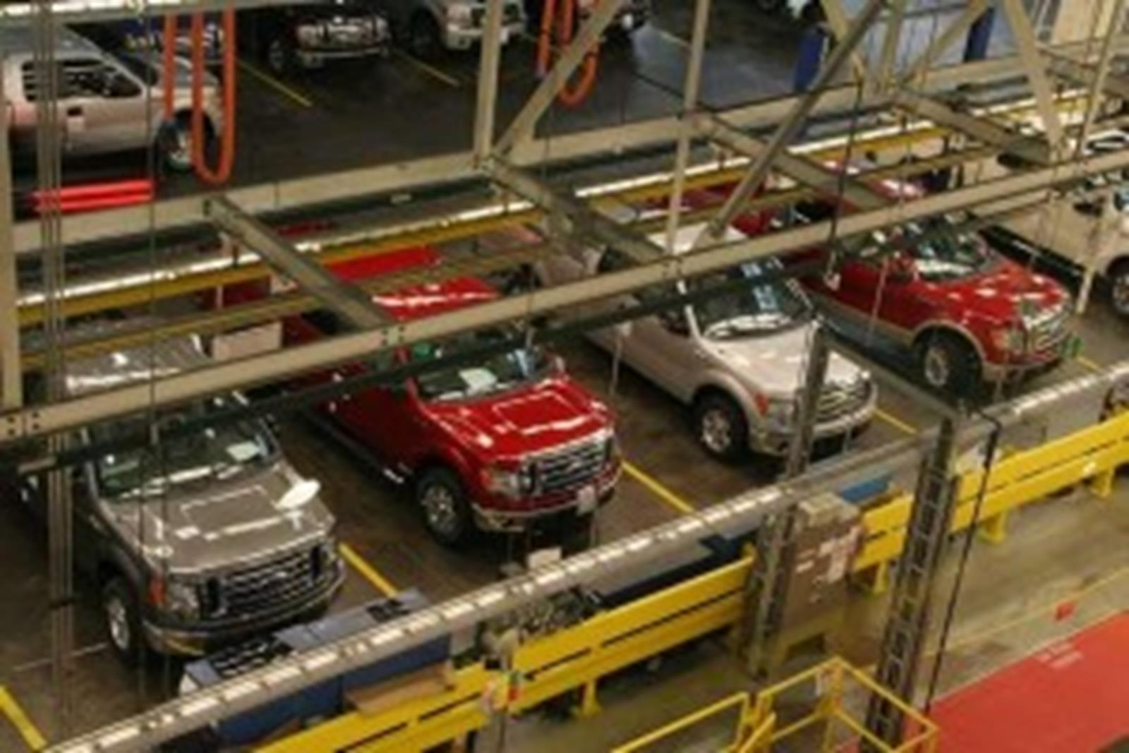 Ford Rouge factory, Dearborn Michigan