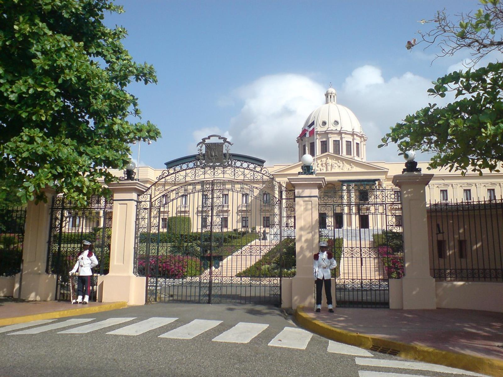 National Palace. The Dominican Republic