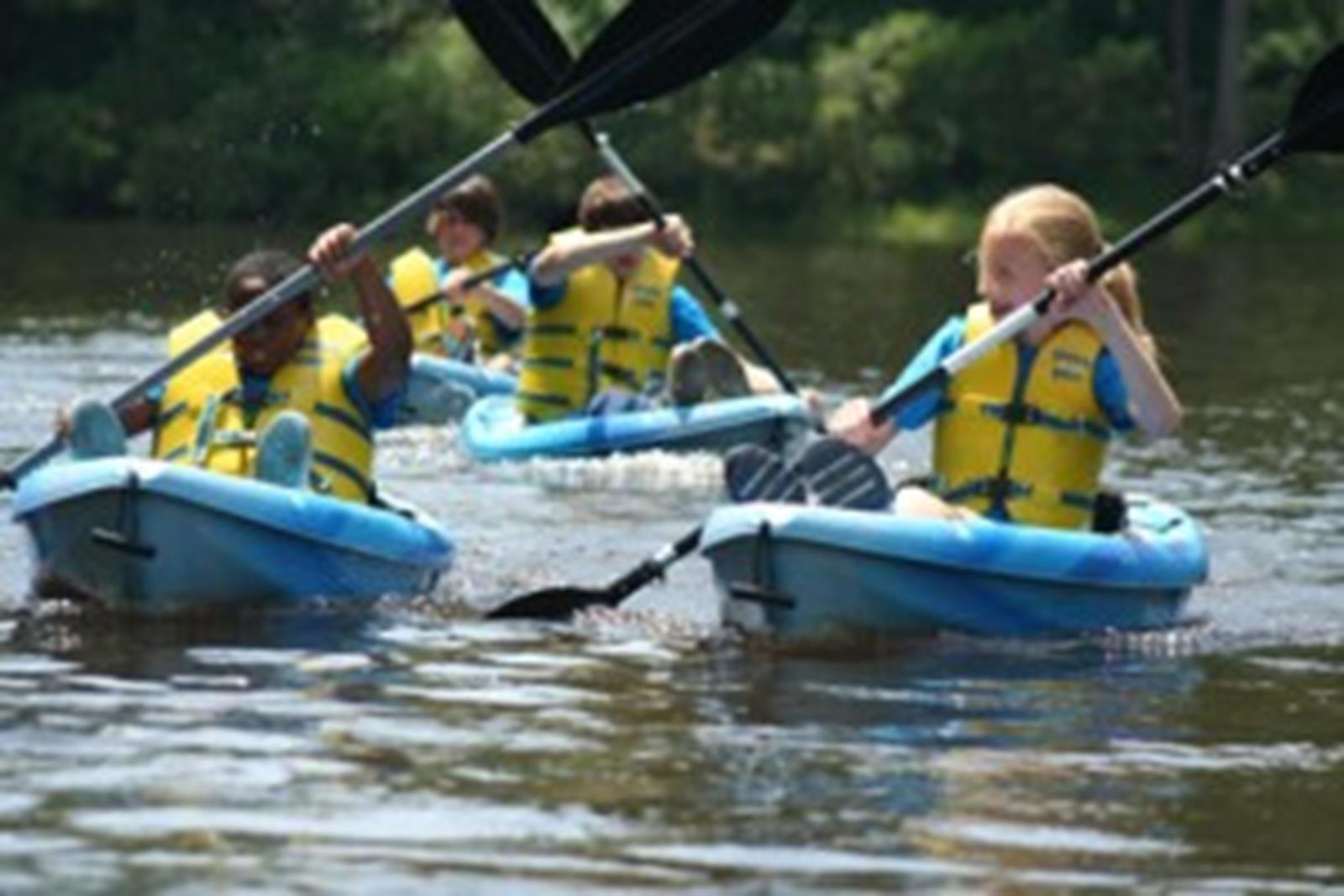 Kayak down the Potomac River