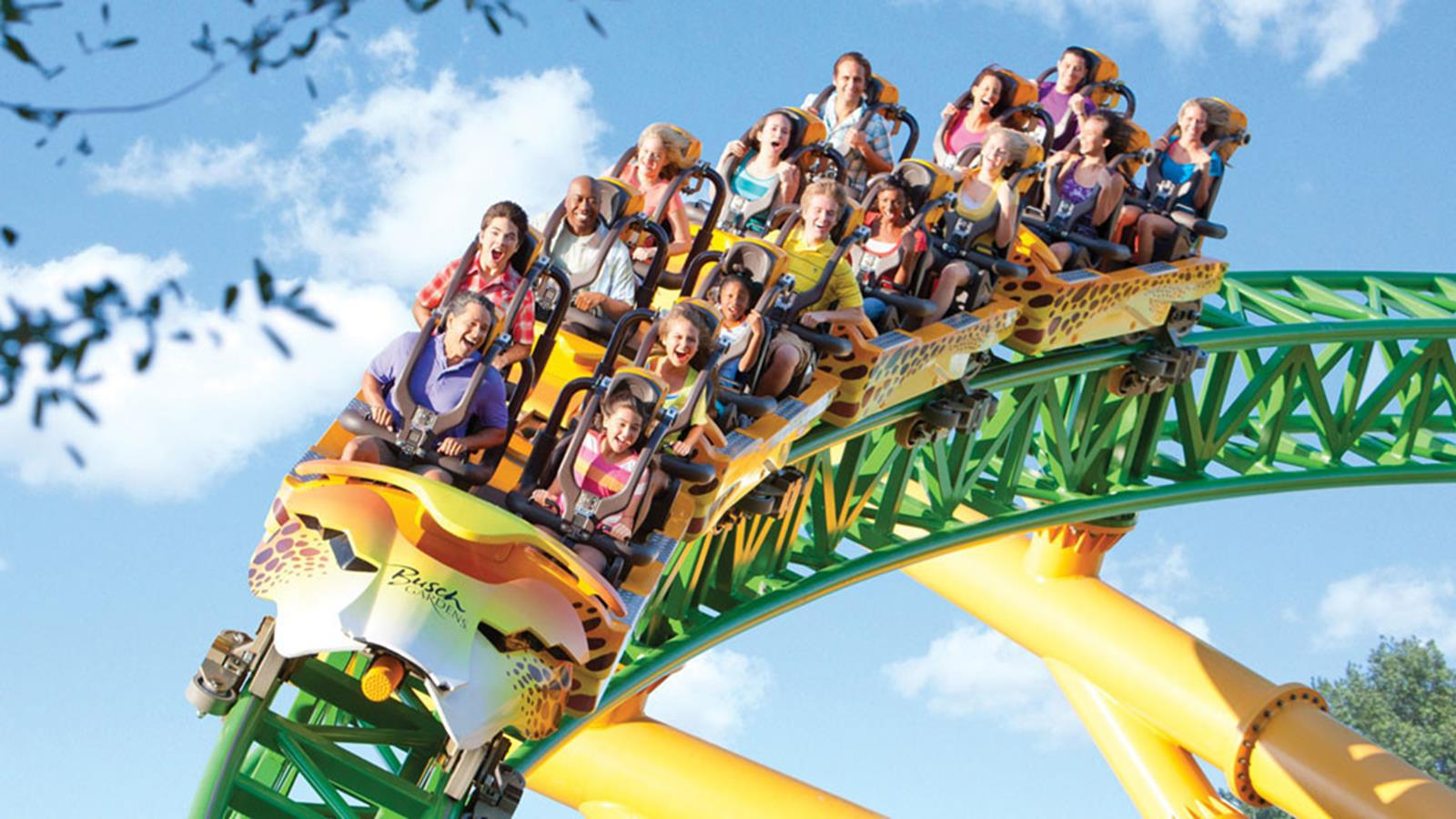 10 top mid atlantic amusement parks and water parks for Busch gardens tampa water park