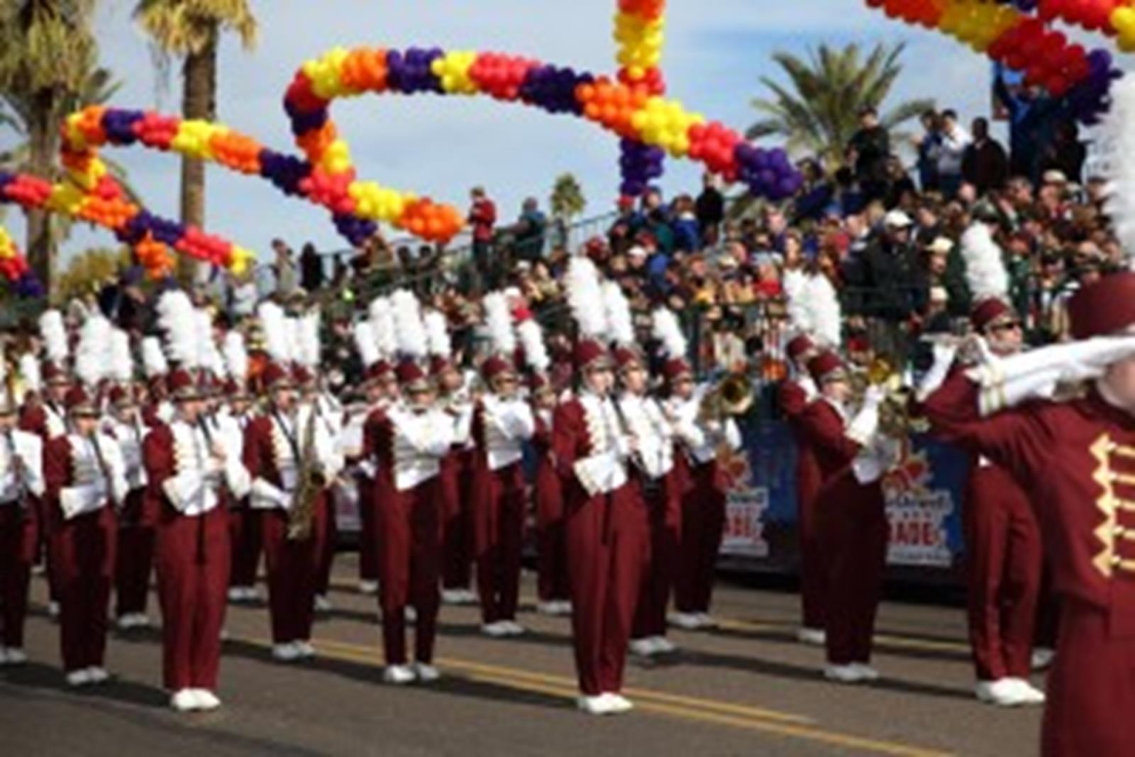 The Fiesta Bowl Parade. Image from Slingshot Photography.