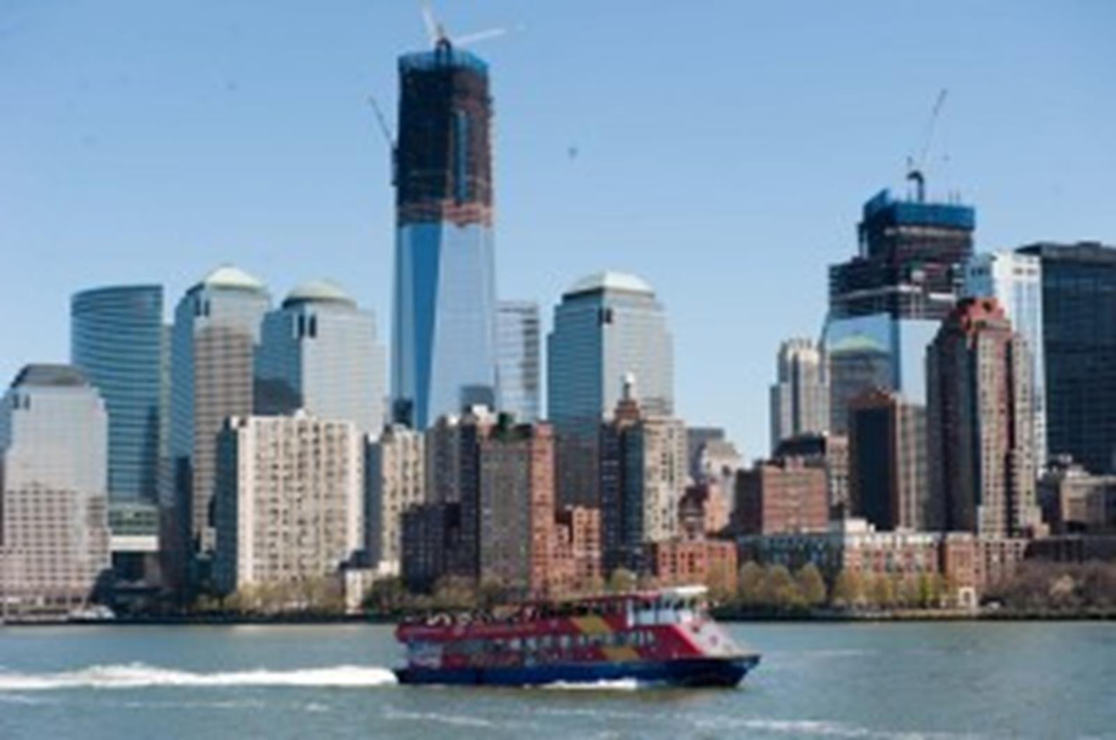 Enjoy views of the new One World Trade Center.