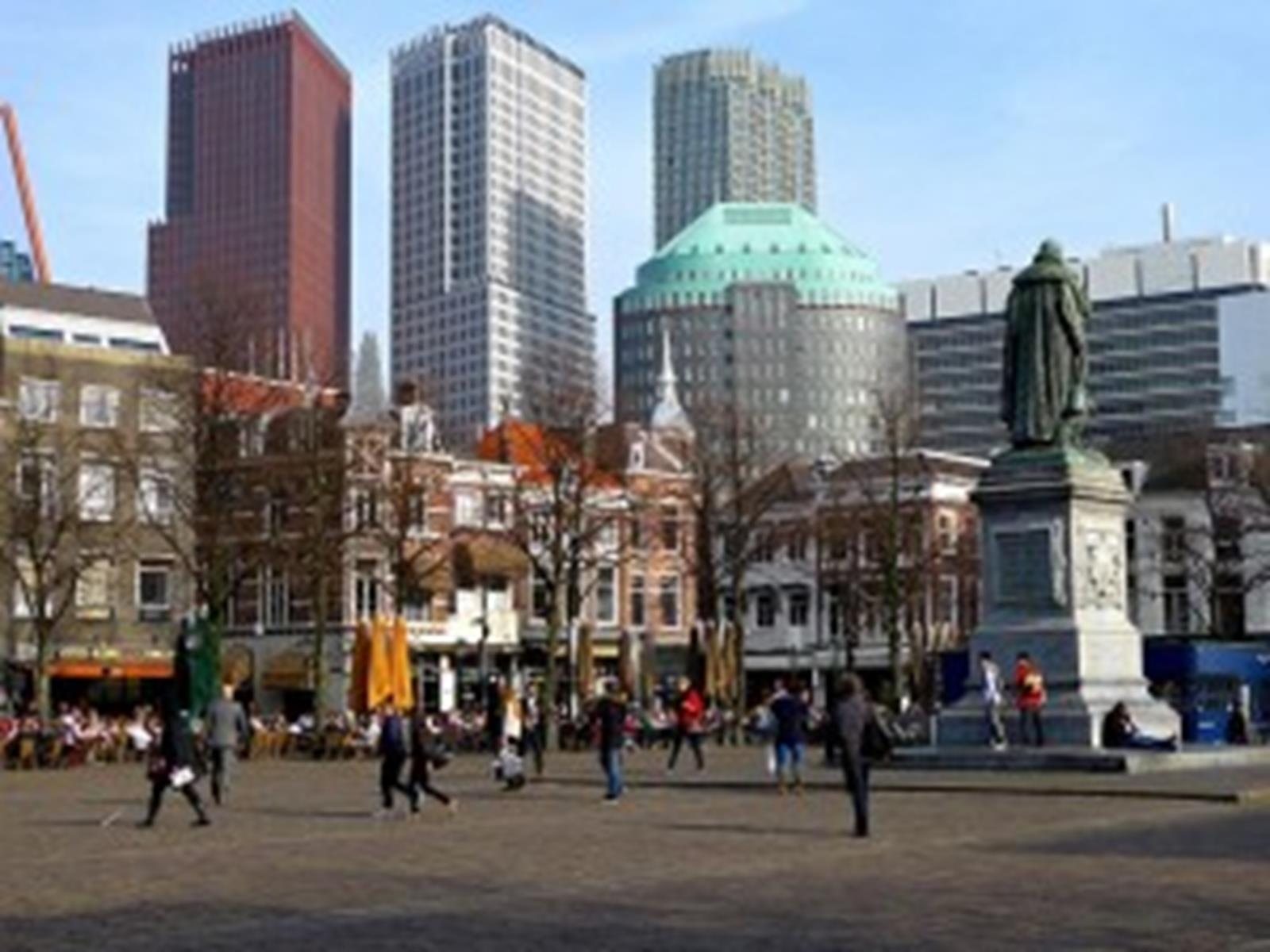 Het Plein in Den Haag, The Netherlands