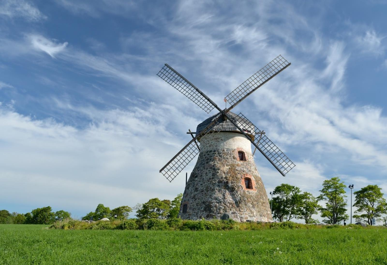 Iconic Windmill of the Netherlands