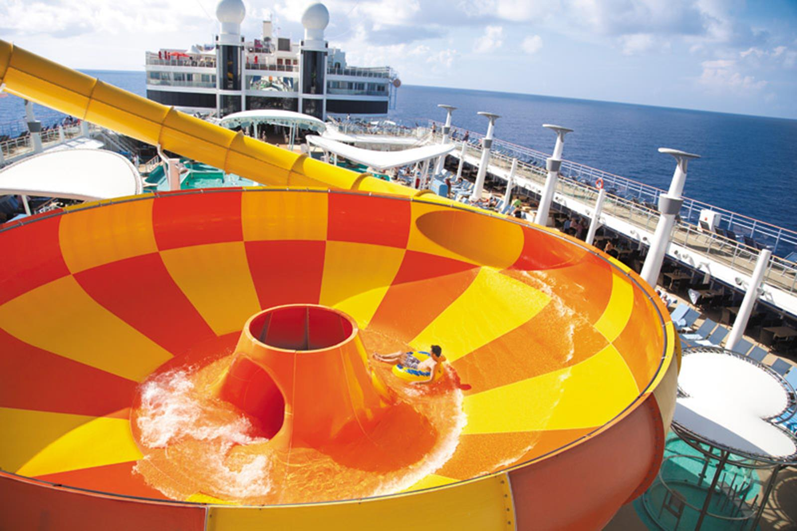 Norwegian Epic Waterslide