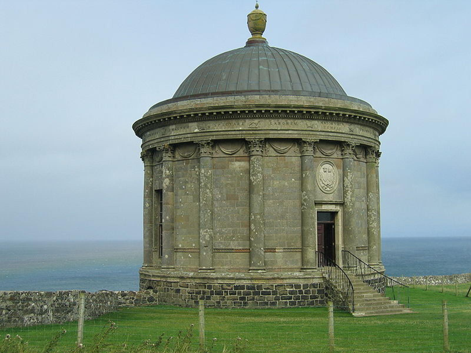 Mussenden Temple, Northern Ireland. Credit