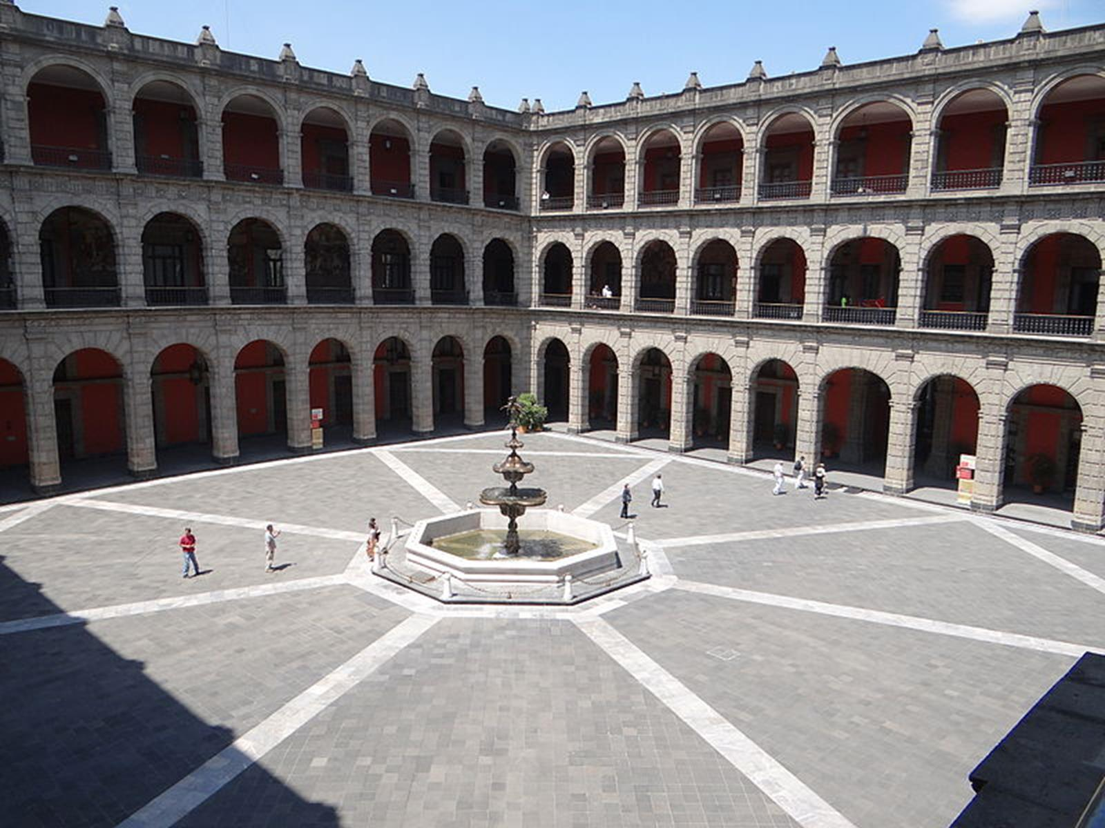 National Palace Courtyard. Credit