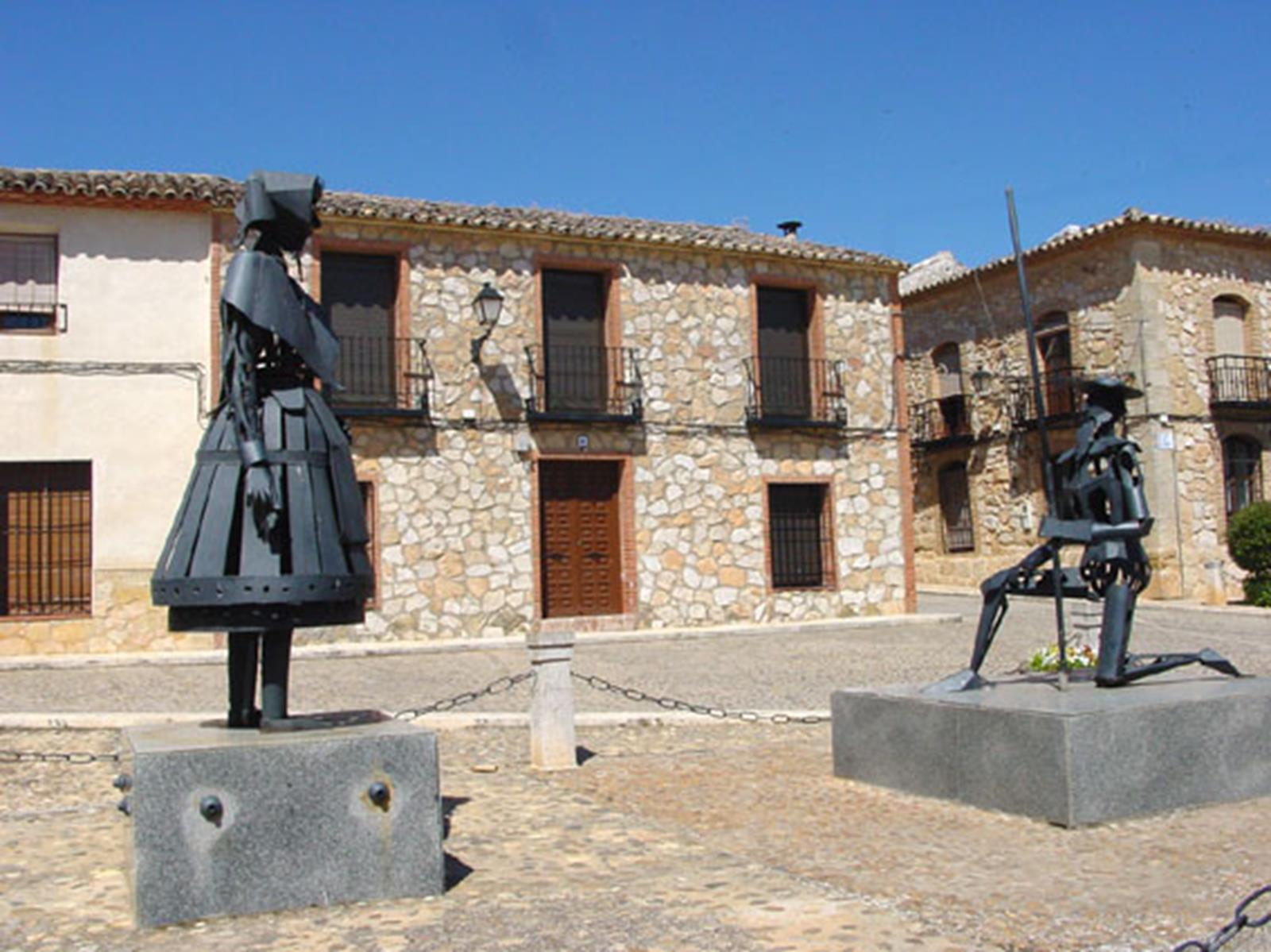 A Monument Dedicated to Don Quixote and Dulcinea