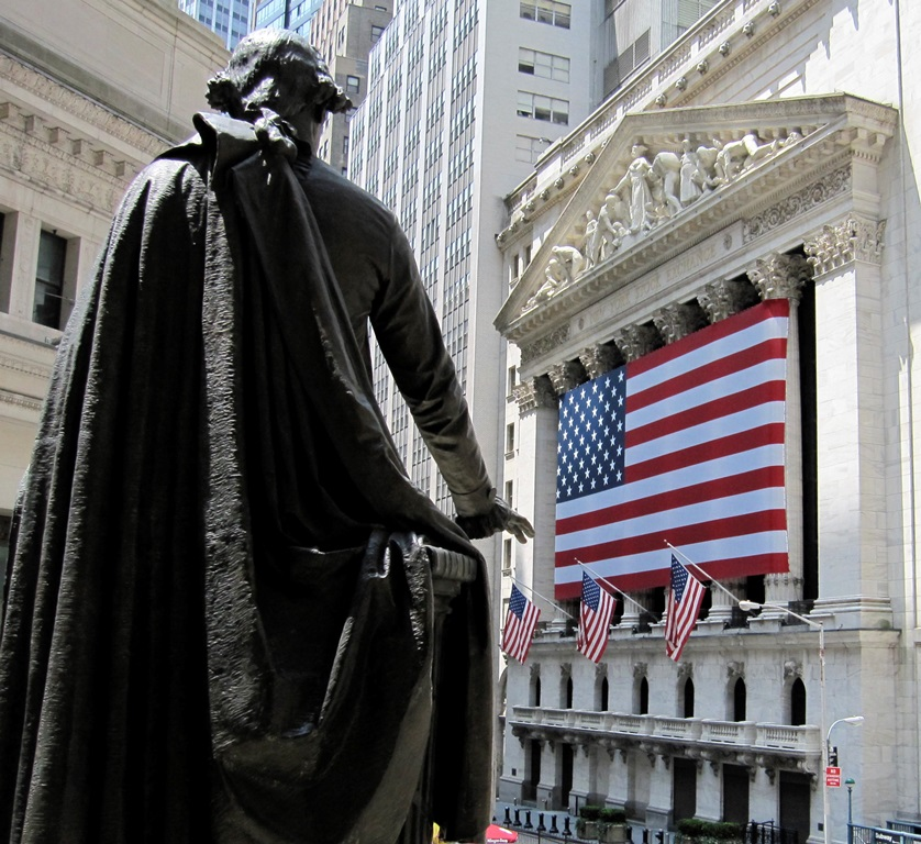 Wall Street NY Stock Exchange Federal Hall