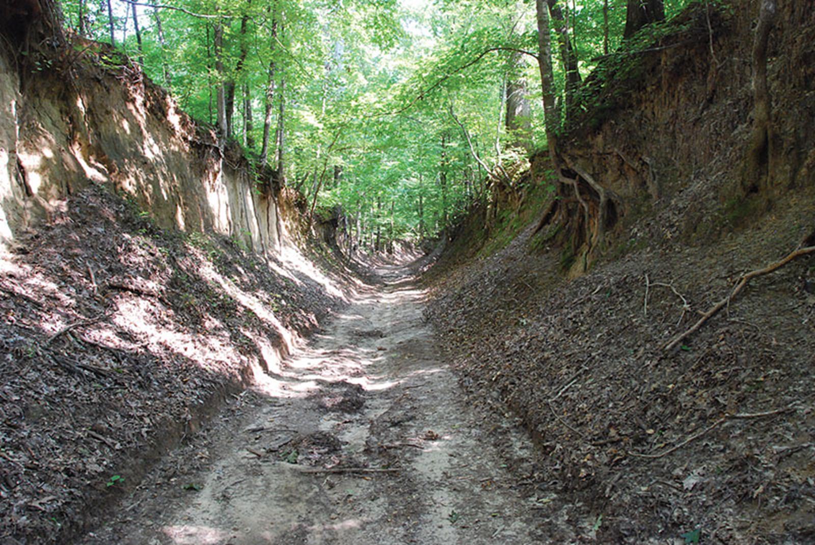 Trail of Tears. Vill Creek