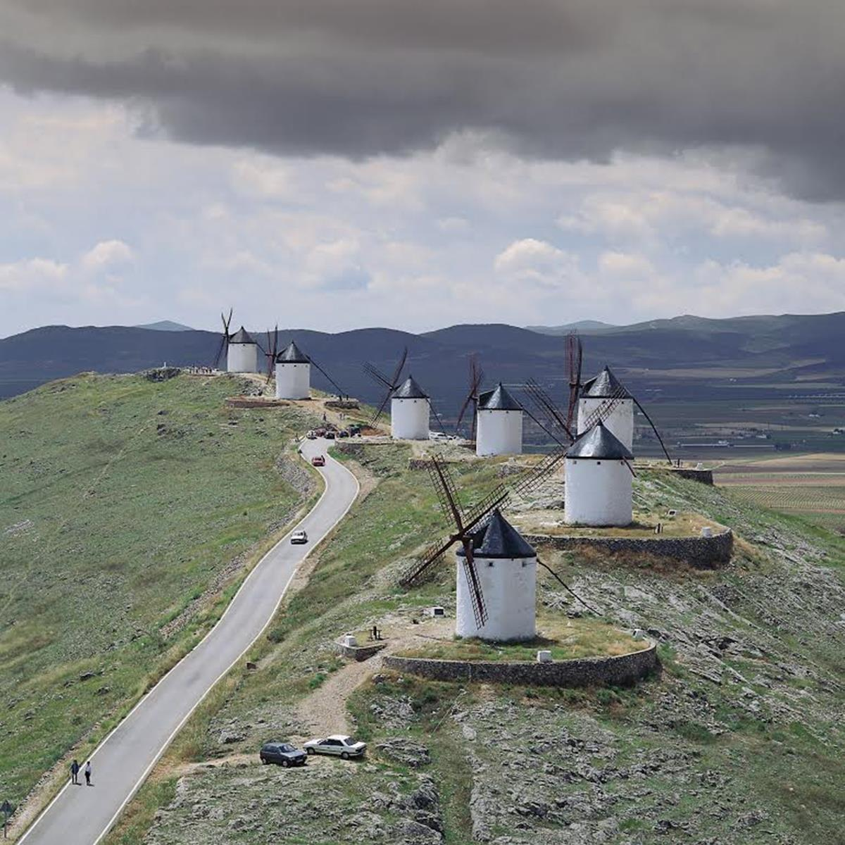 windmills in consuerga