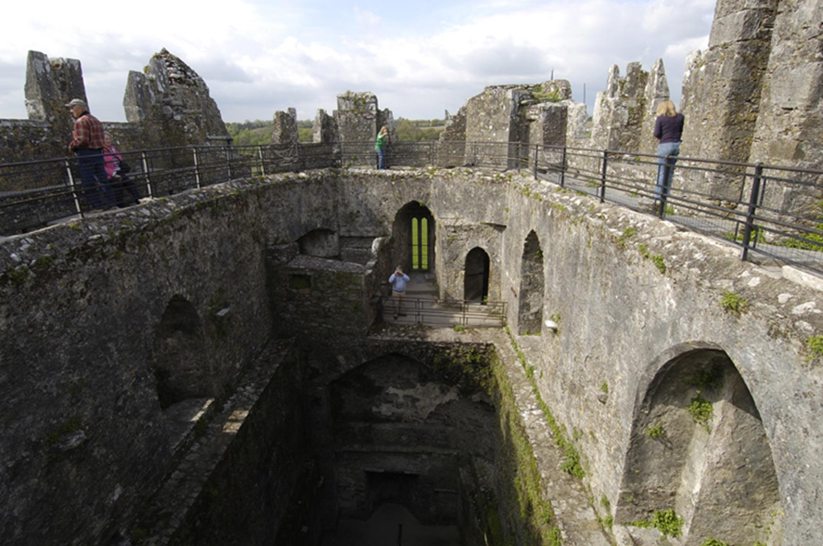 Blarney castle inside