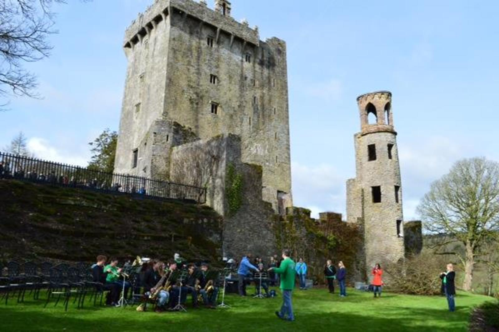 Performance at Blarney Castle
