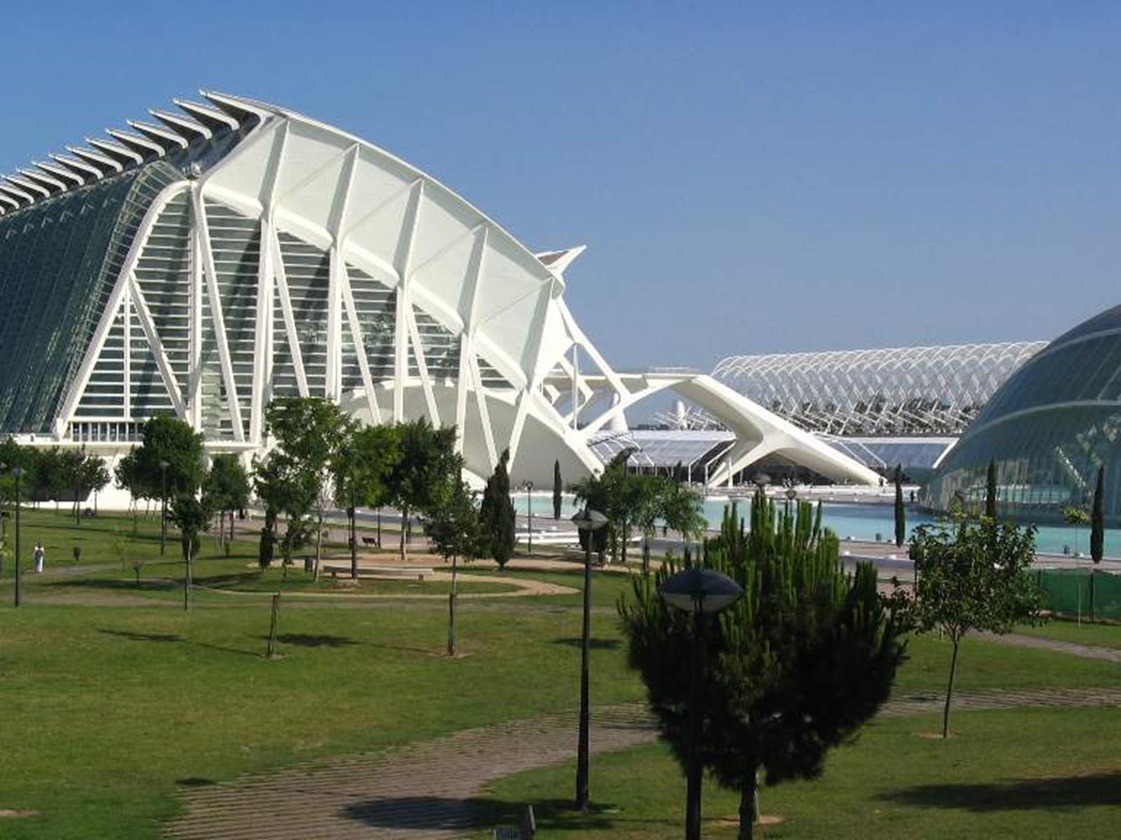Ciutat de les Arts i les Ciències in Valencia