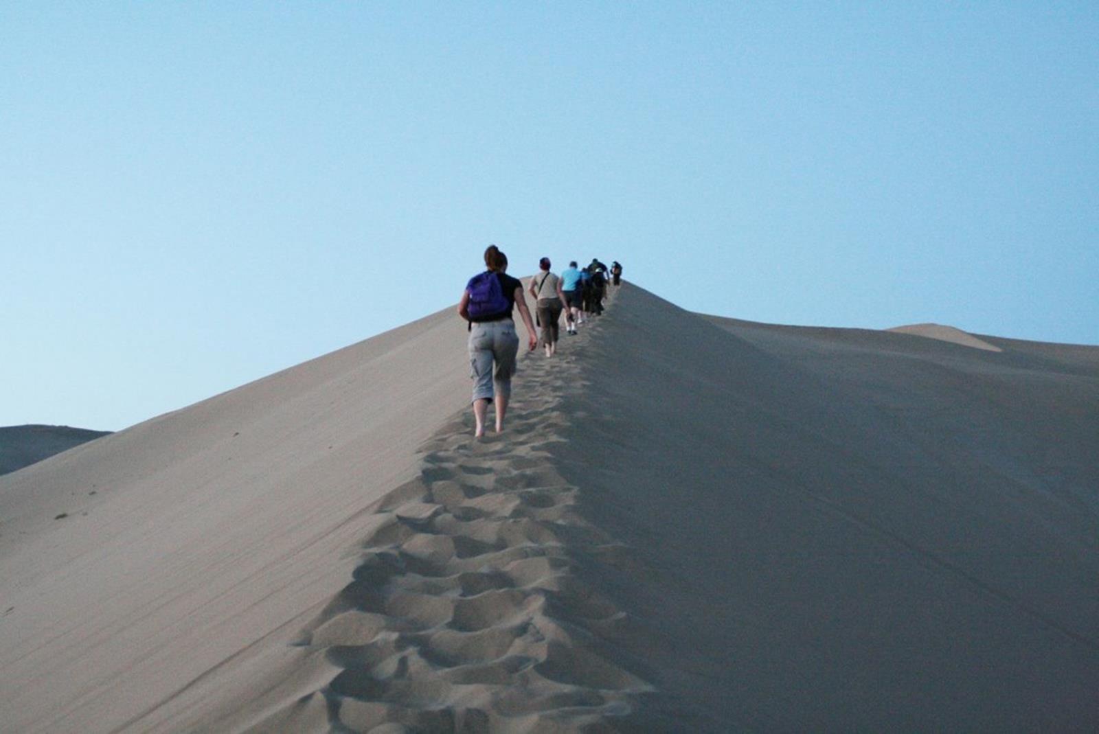 China Dunhuang Mingsha Sand Dunes