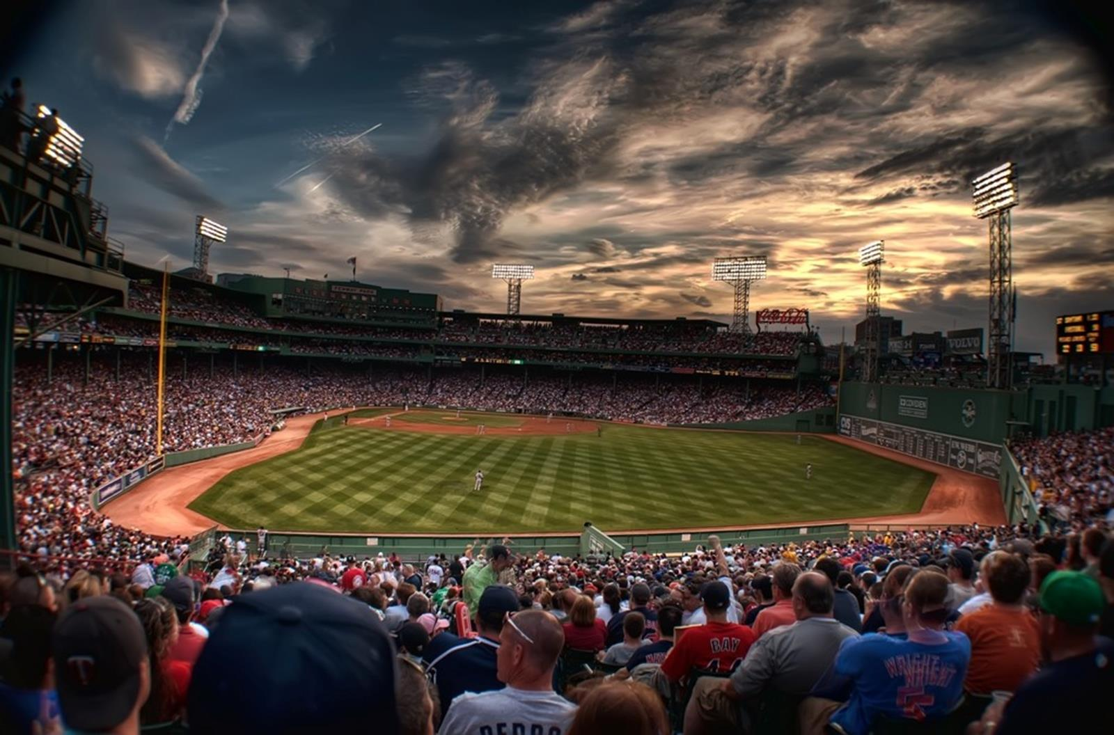 Fenway Stadium. Credit: Flikr at en.wikipedia
