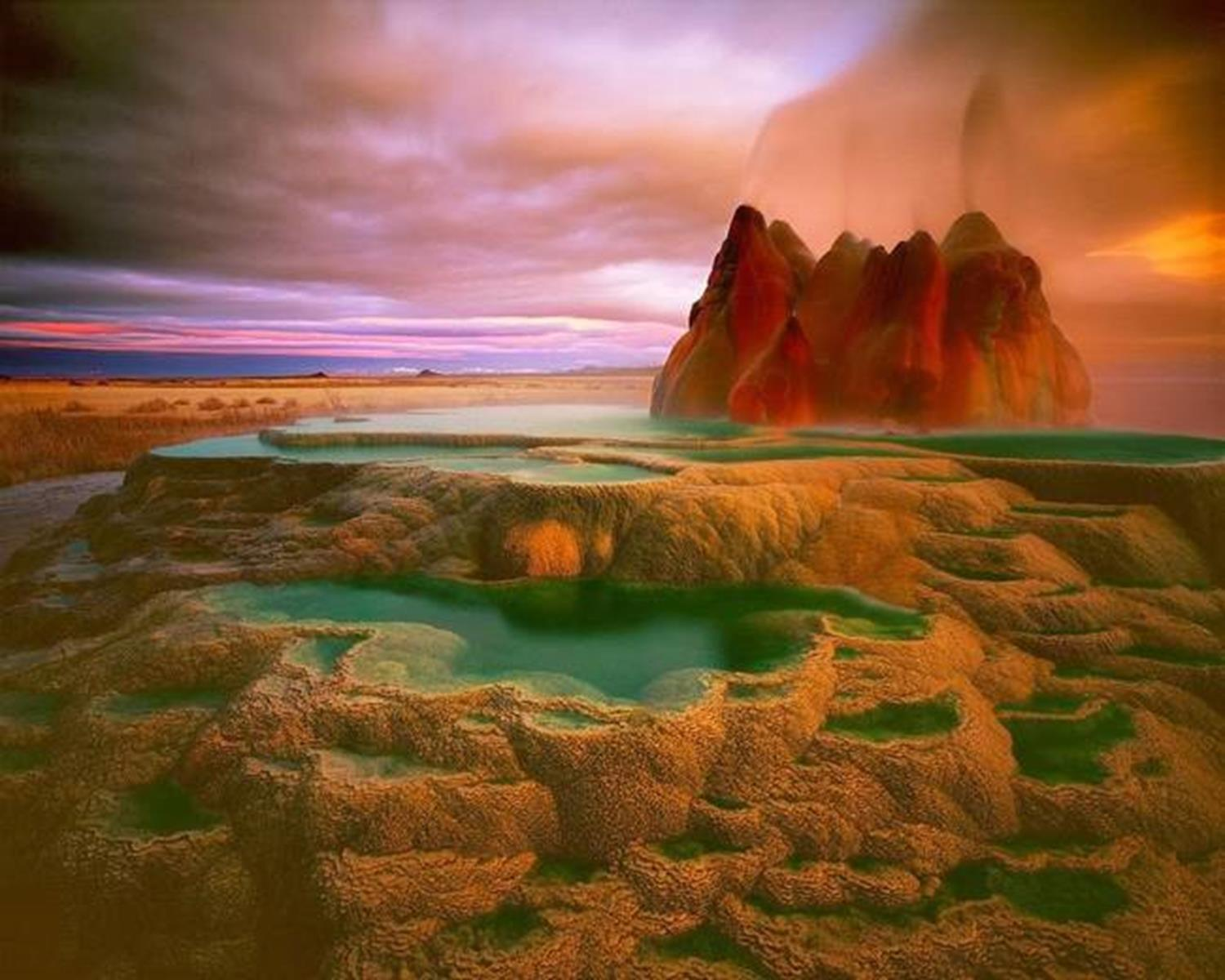 Fly Ranch Geyser, Washoe County, Nevada