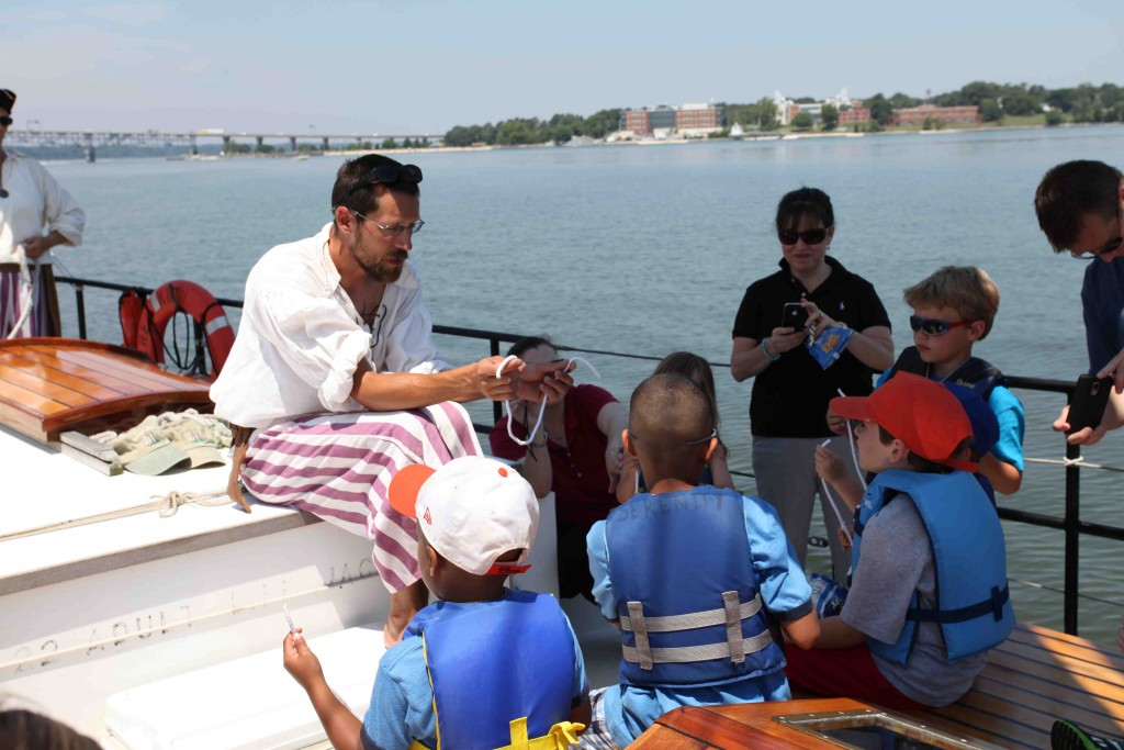 Students Set Sail for Fun & Learning with Yorktown Sailing Charters