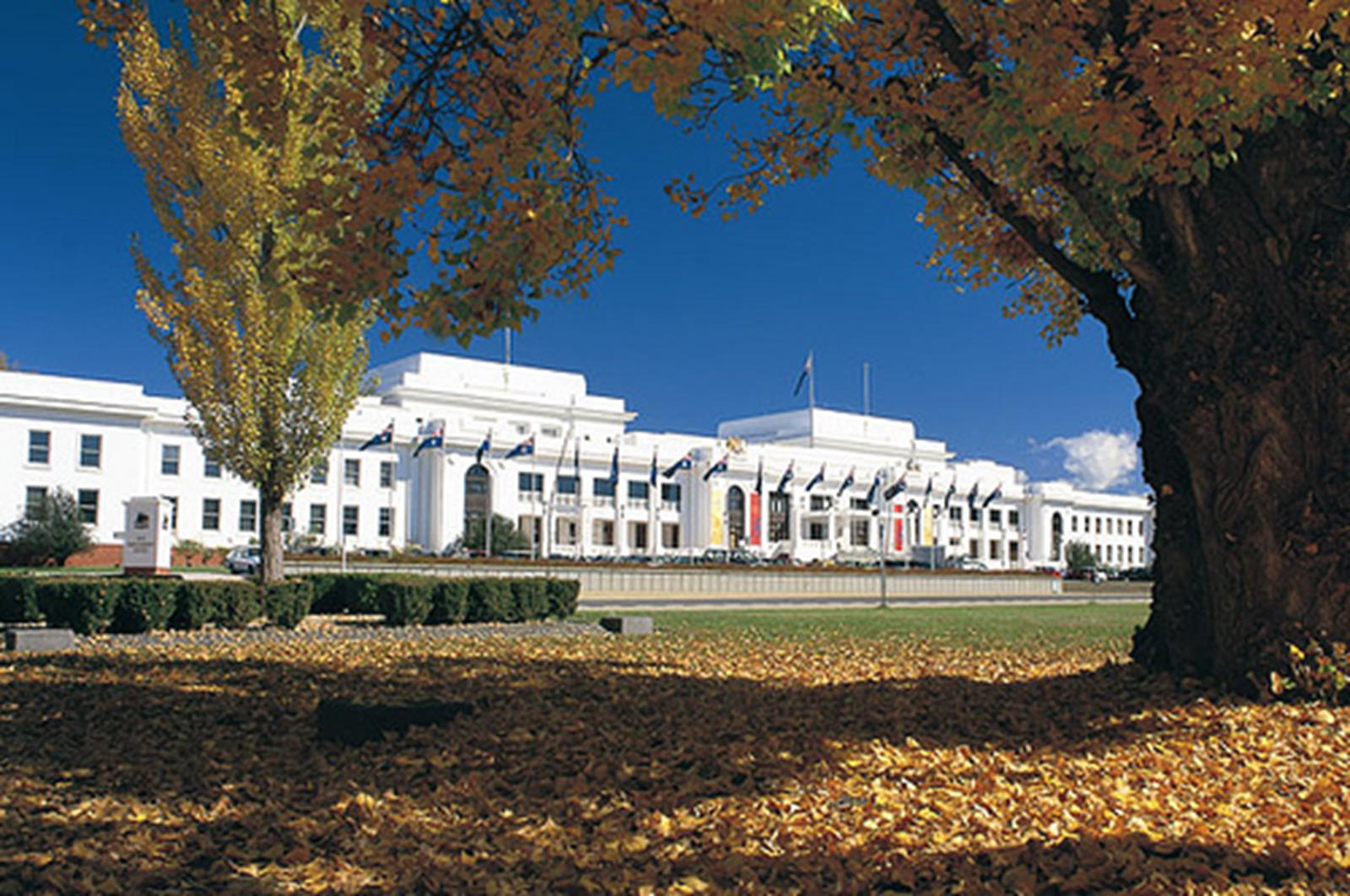 Museum of Australian Democracy and Parliament House. Credit
