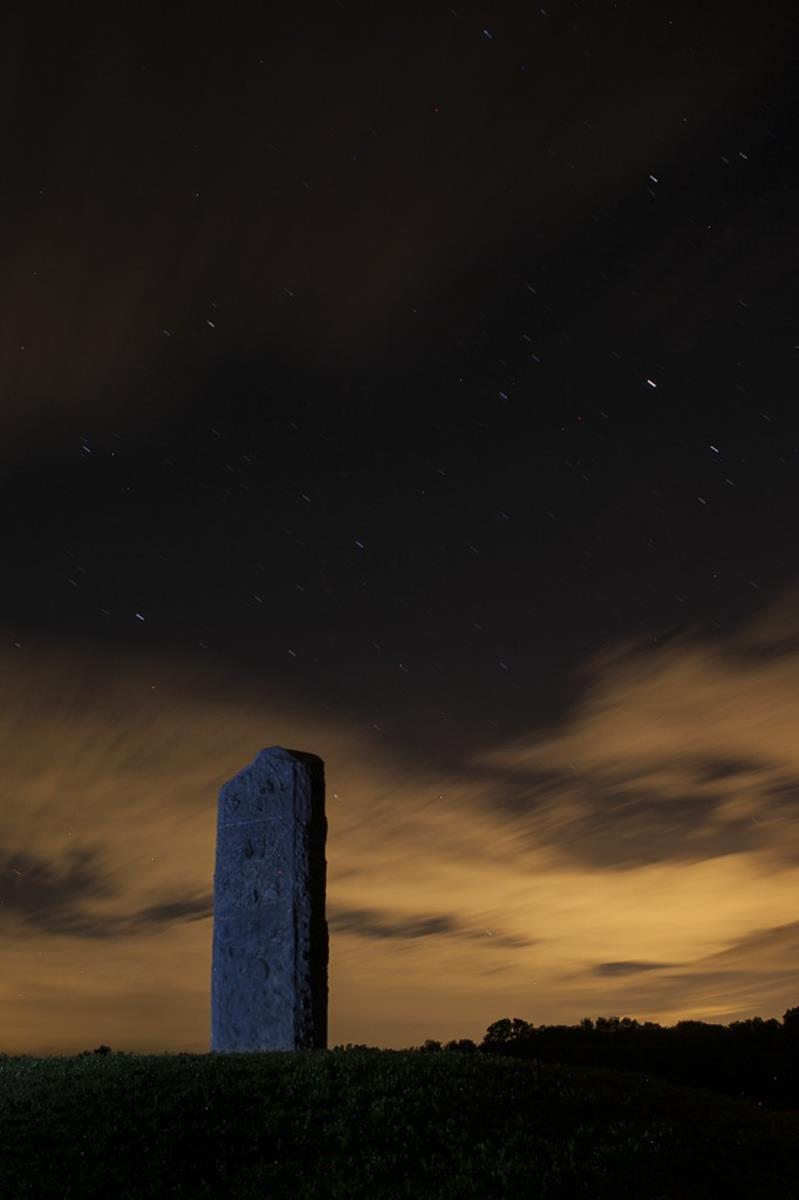 Henge at Observatory Park. Credit: Anita Orenick