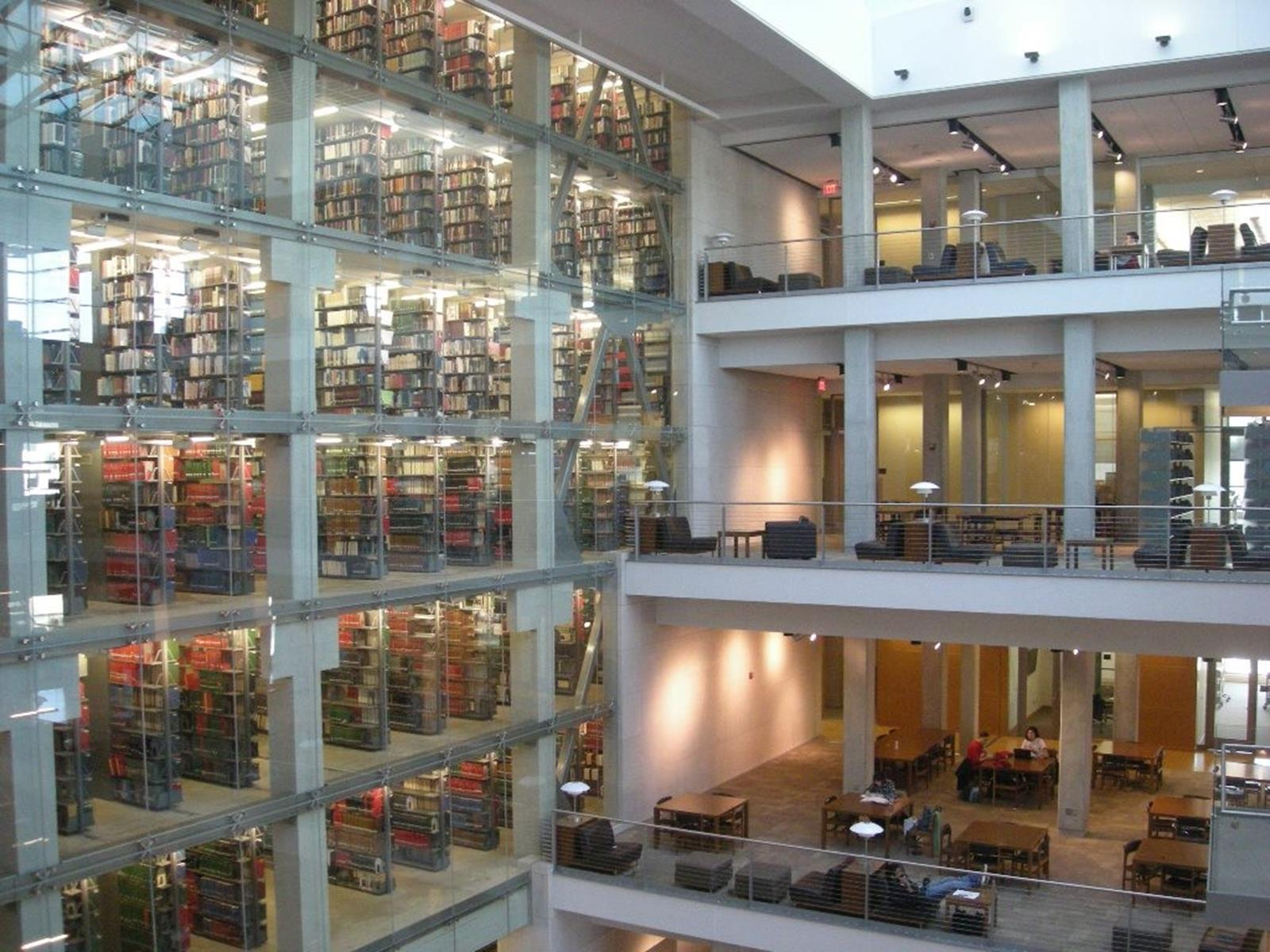 Thompson Library at The Ohio State University. Credit: Michael Barera