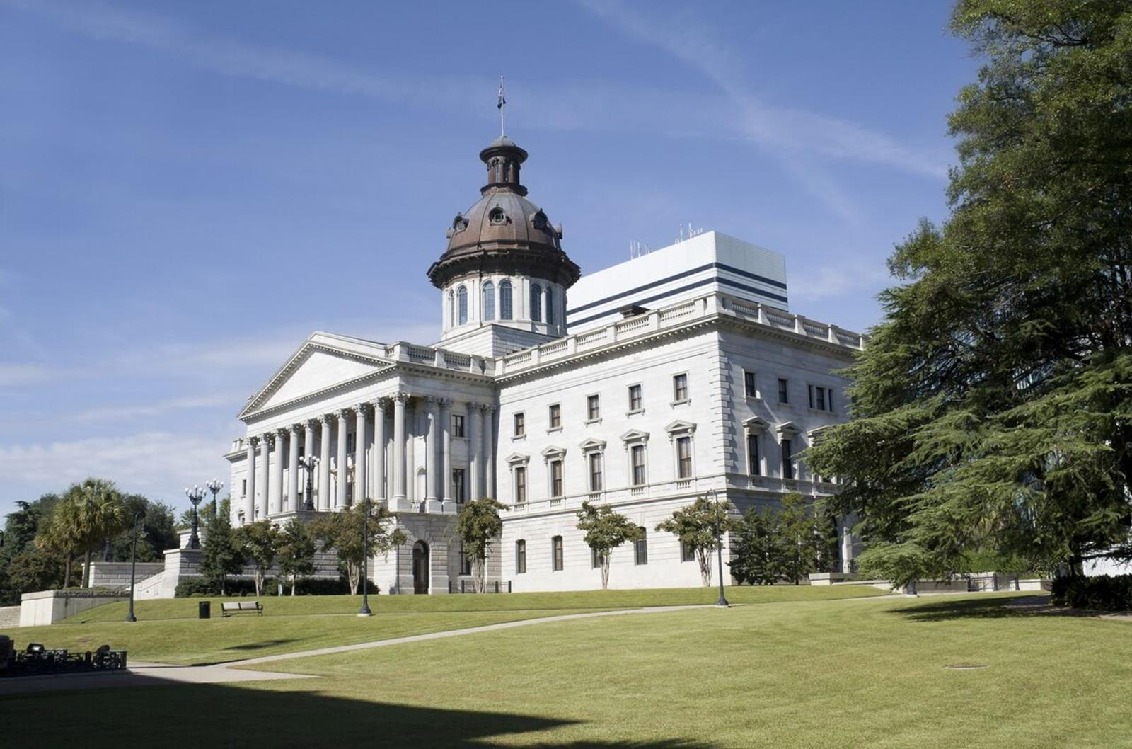 South Carolina Statehouse. Credit: Capital City/Lake Murray Country Regional Tourism Board