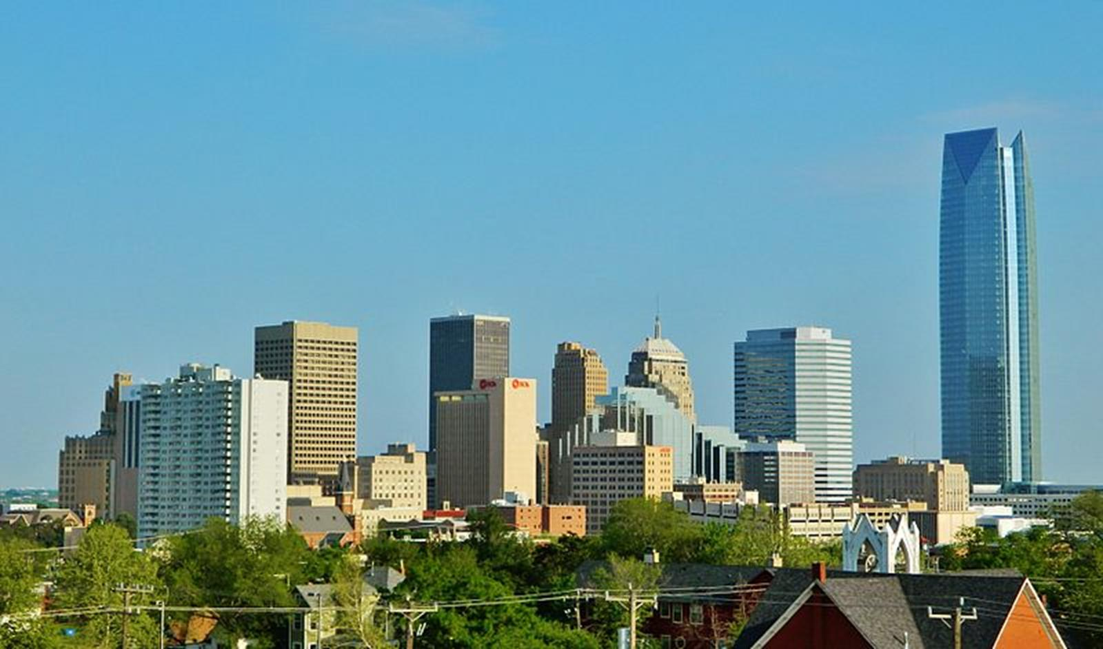 Oklahoma City Downtown. Credit: Wikipedia