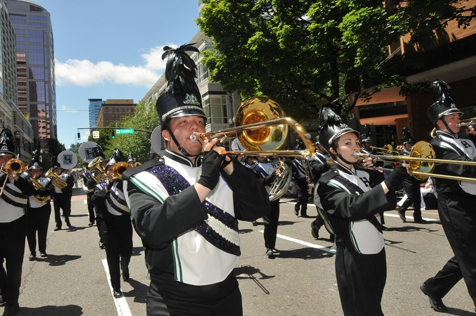 Grand Floral Parade. Credit: Portland Rose Festival Foundation
