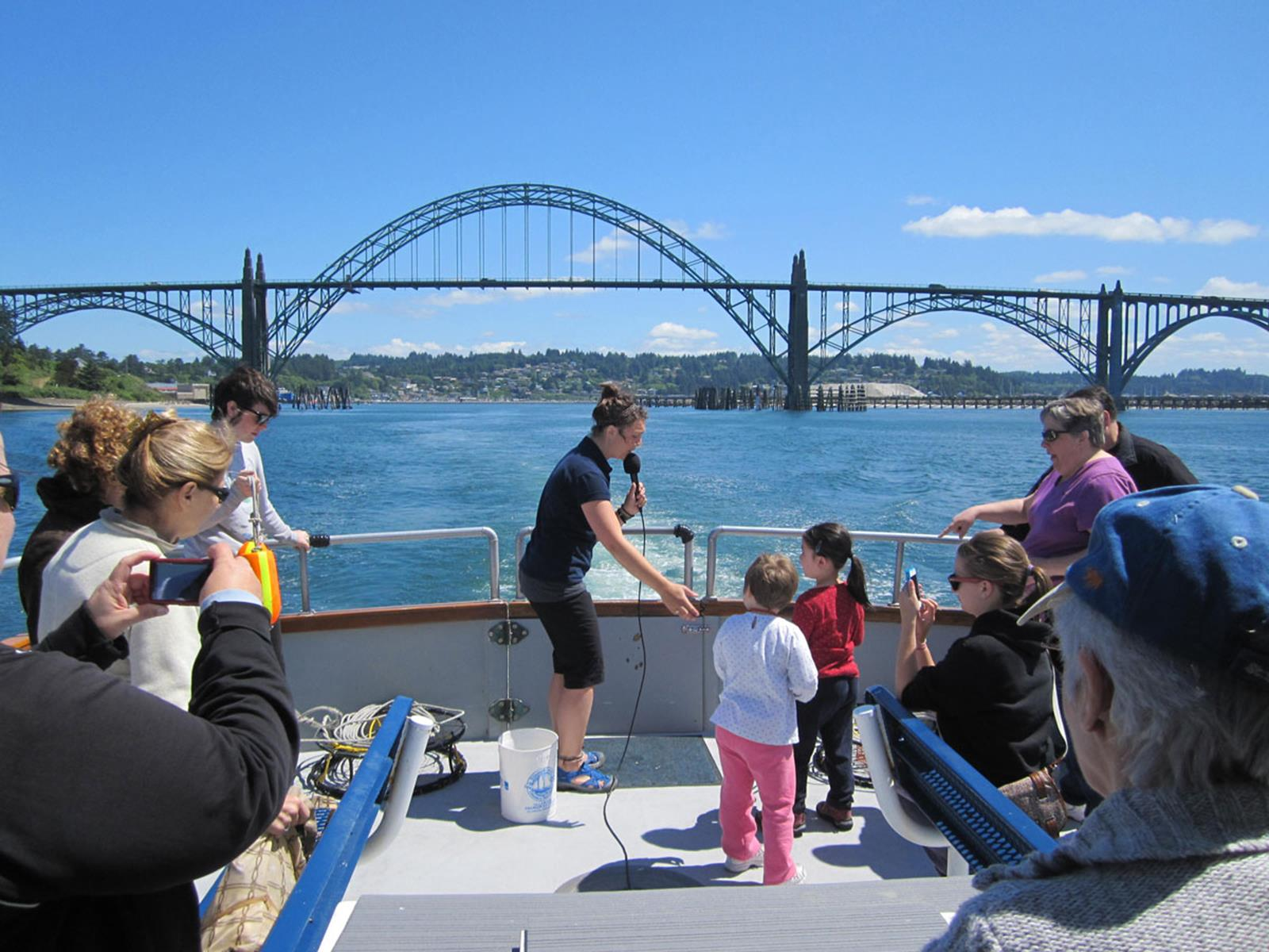Educational Tour Credit: Marine Discovery Tours