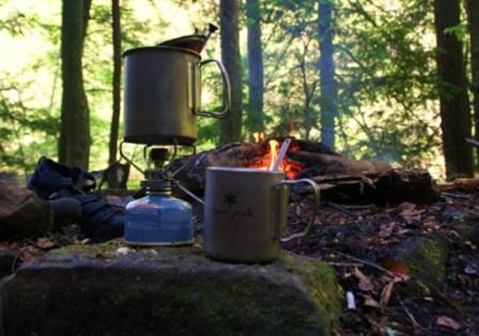 Camp cooking. Credit: Alabama Eco Adventures