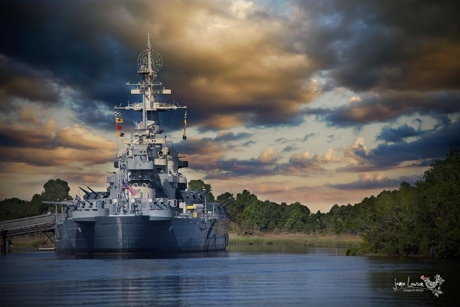 Battleship North Carolina. Credit: Battleship North Carolina.