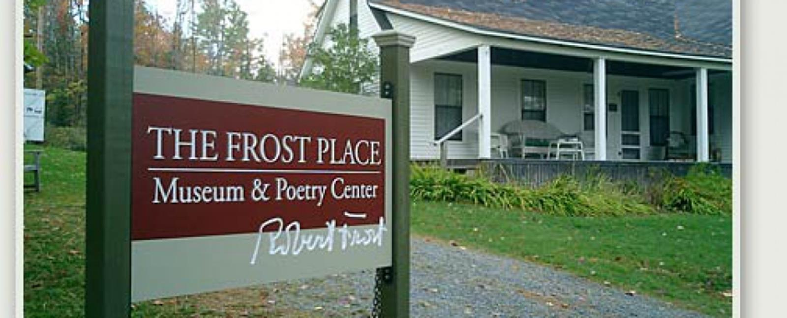 The exterior of Robert Frost's home. Credit: The Frost Place