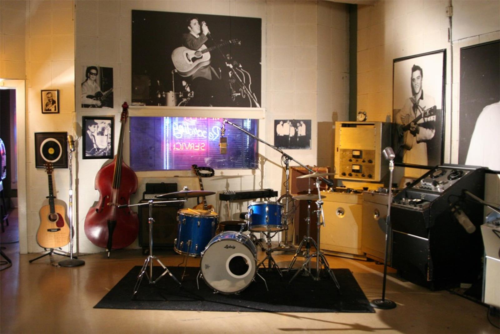 Inside the studio. Credit: Sun Studios