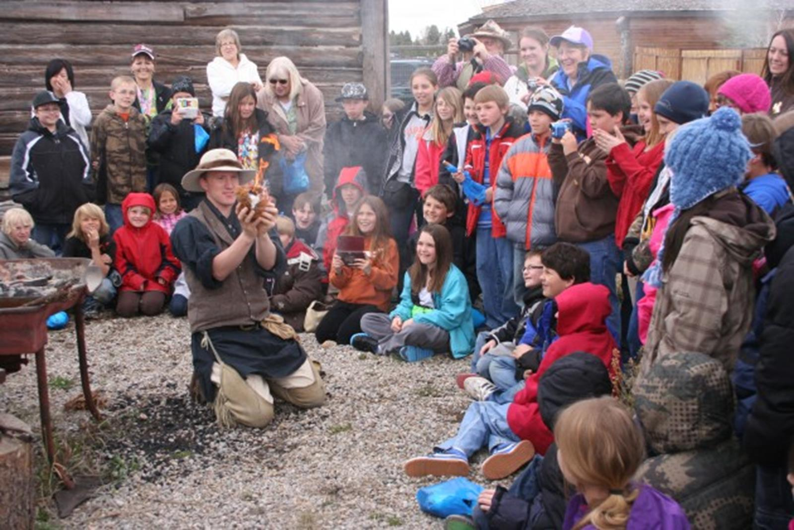 Living History Days at the Museum of the Mountain Man. Credit: Museum of the Mountain Man