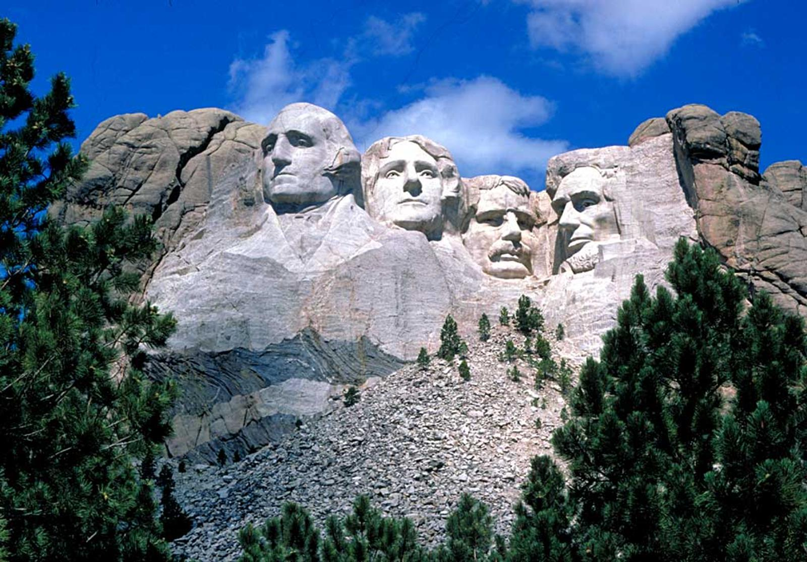 Mount Rushmore. Credit: Wikipedia