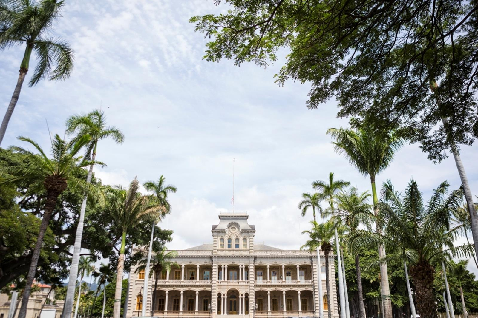 Iolani Palace. Credit: Hawaii Tourism Authority (HTA)/Tor Johnson Island.