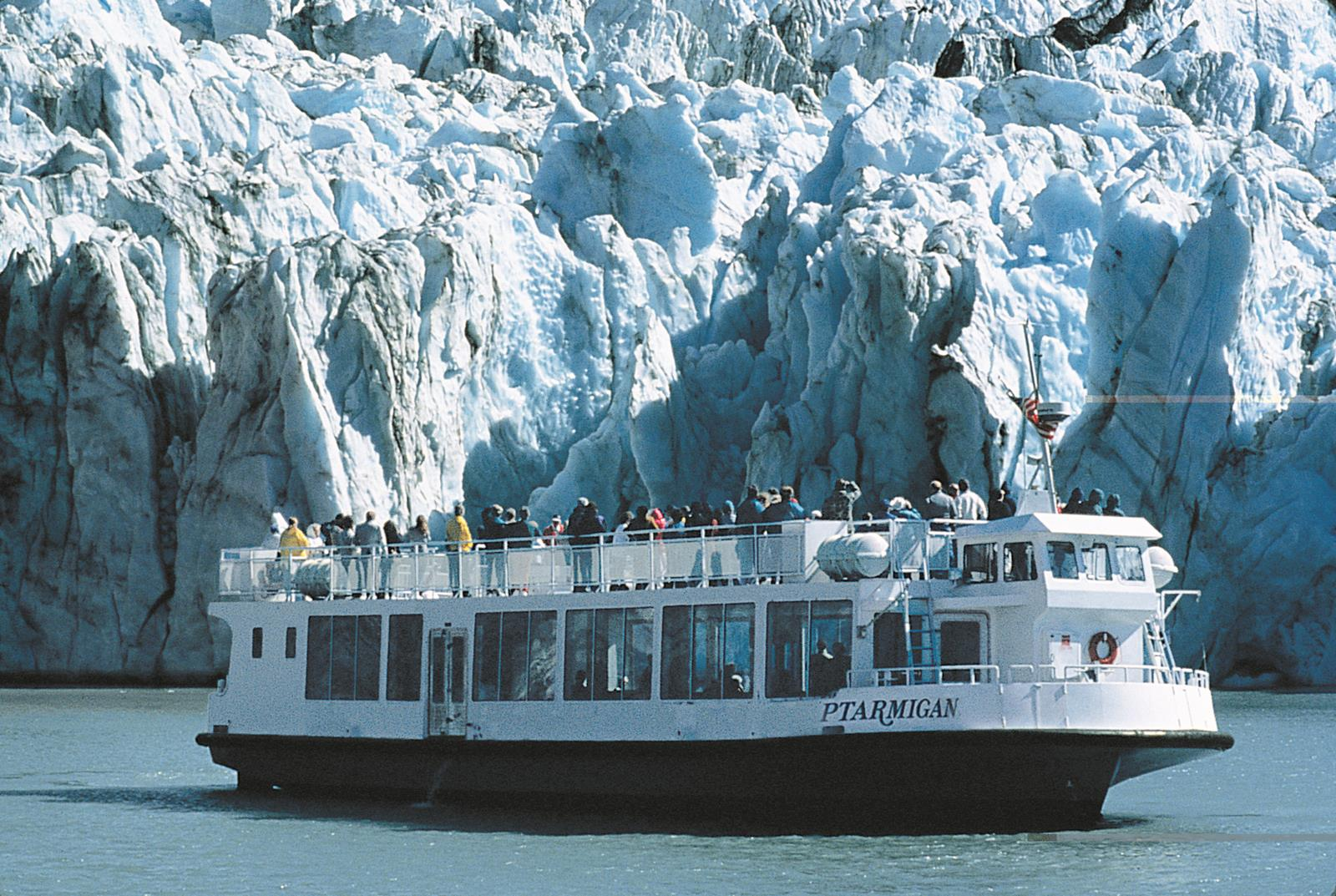 Ptarmigan a boat that can be used to travel the Alaskan Marine Highway. Credit: Premier Travel Media.