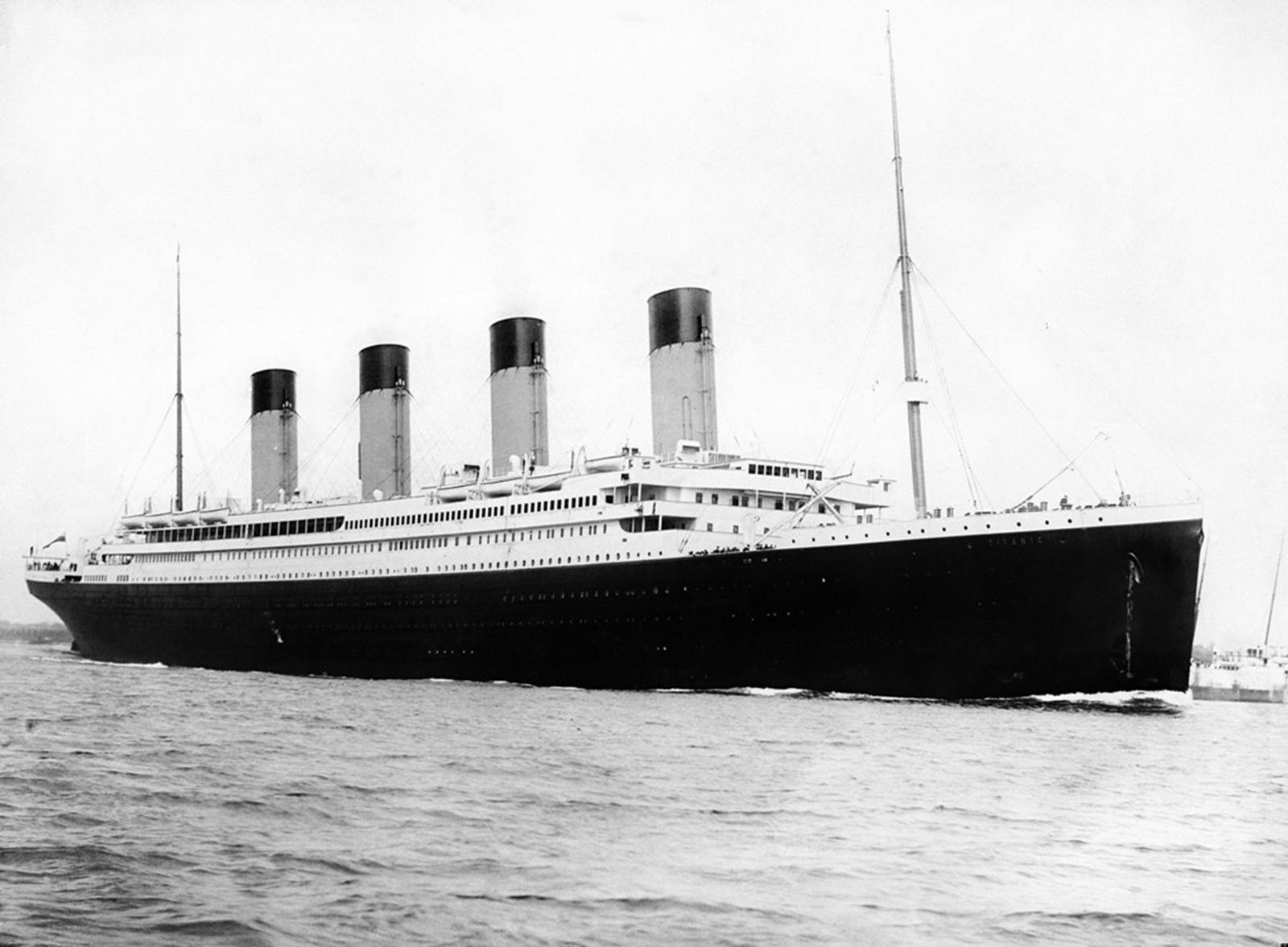 An original photograph of Titanic. Credit: F.G.O. Stuart at en.wikipedia
