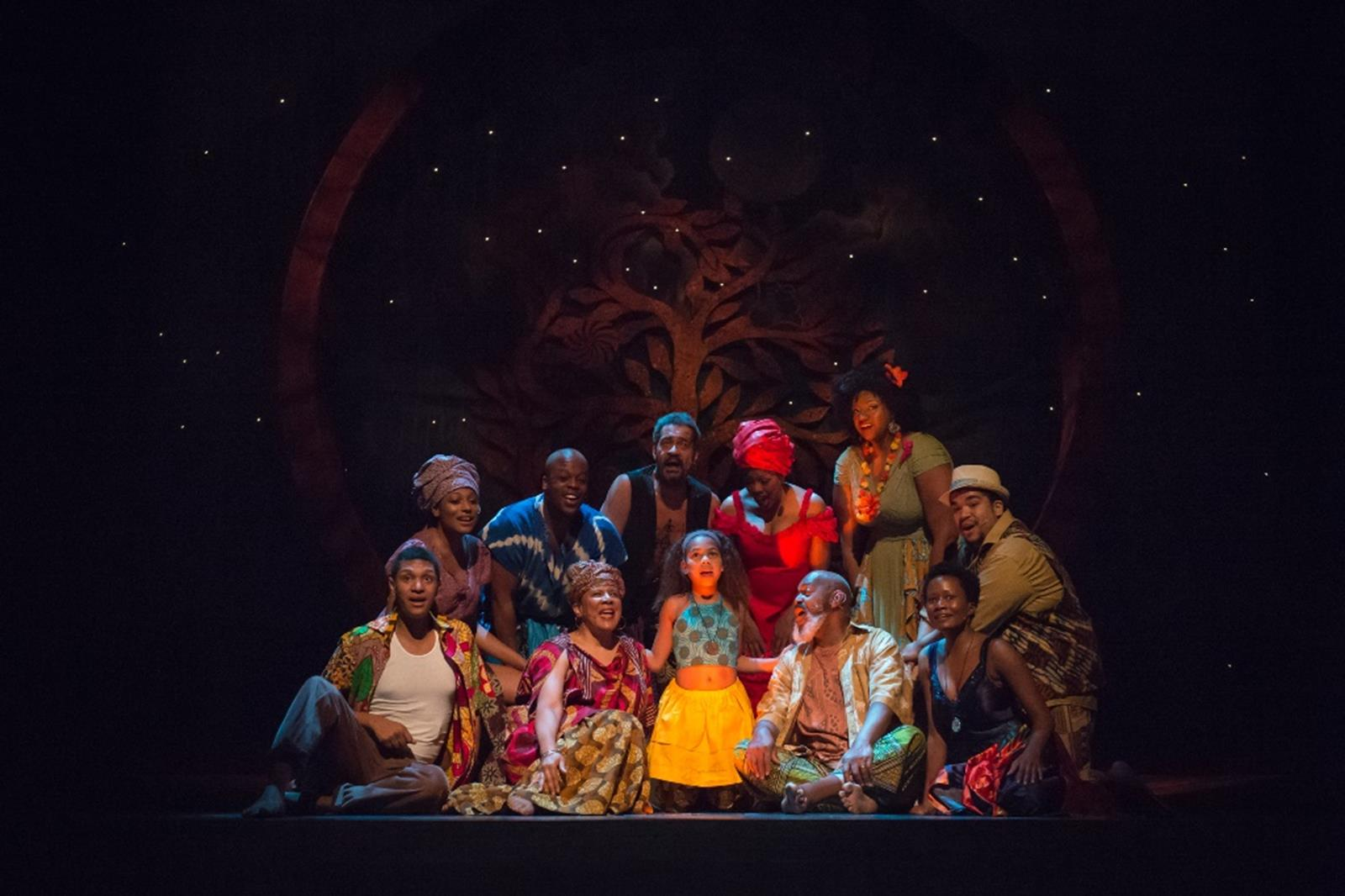 Performance of Once on This Island. Credit: Skylight Music Theatre
