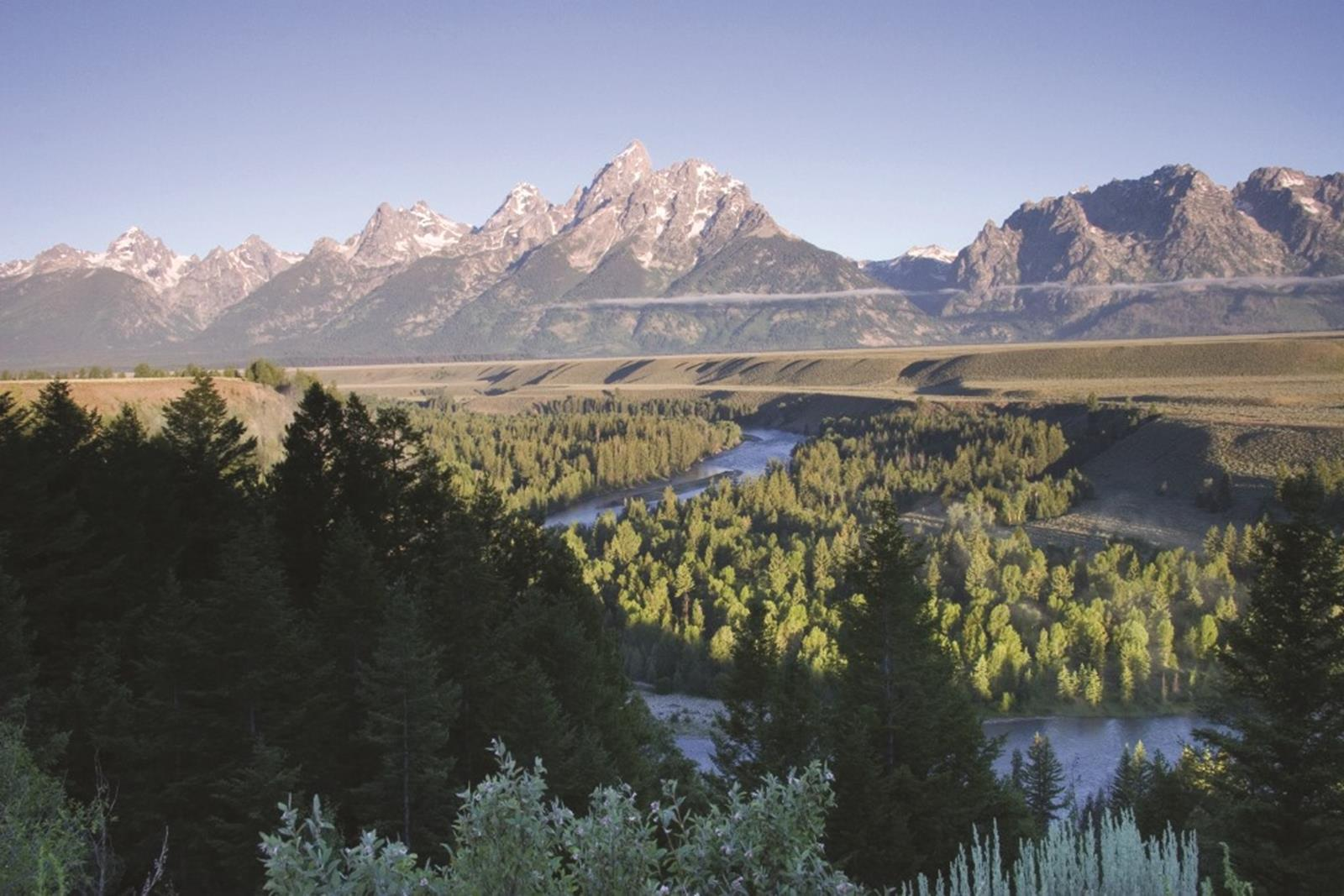 Teton overlook. Credit: Jackson Hole Chamber of Commerce.