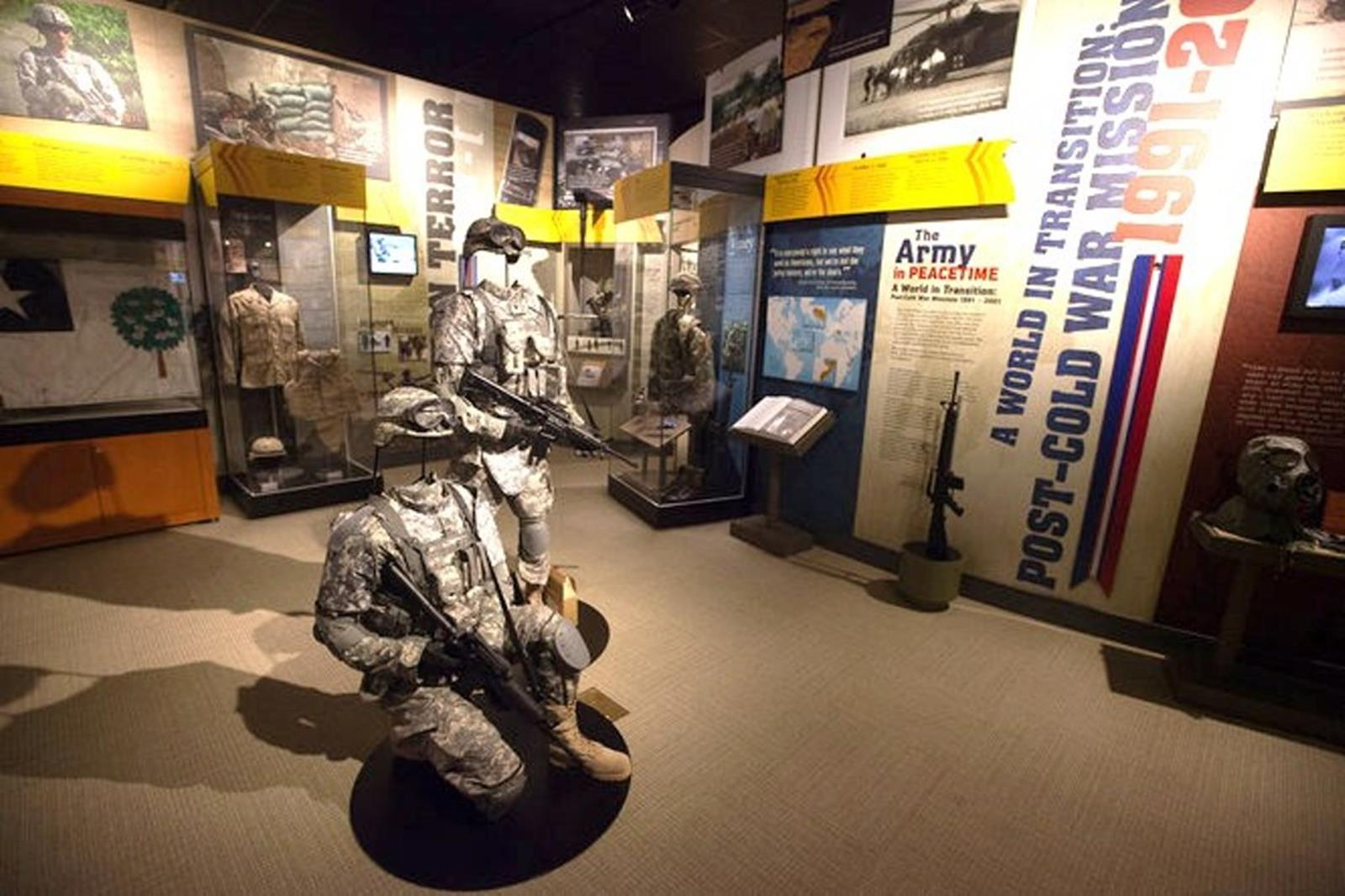 Army memorabilia at the Army Heritage Center. Credit: Army Heritage Center Foundation